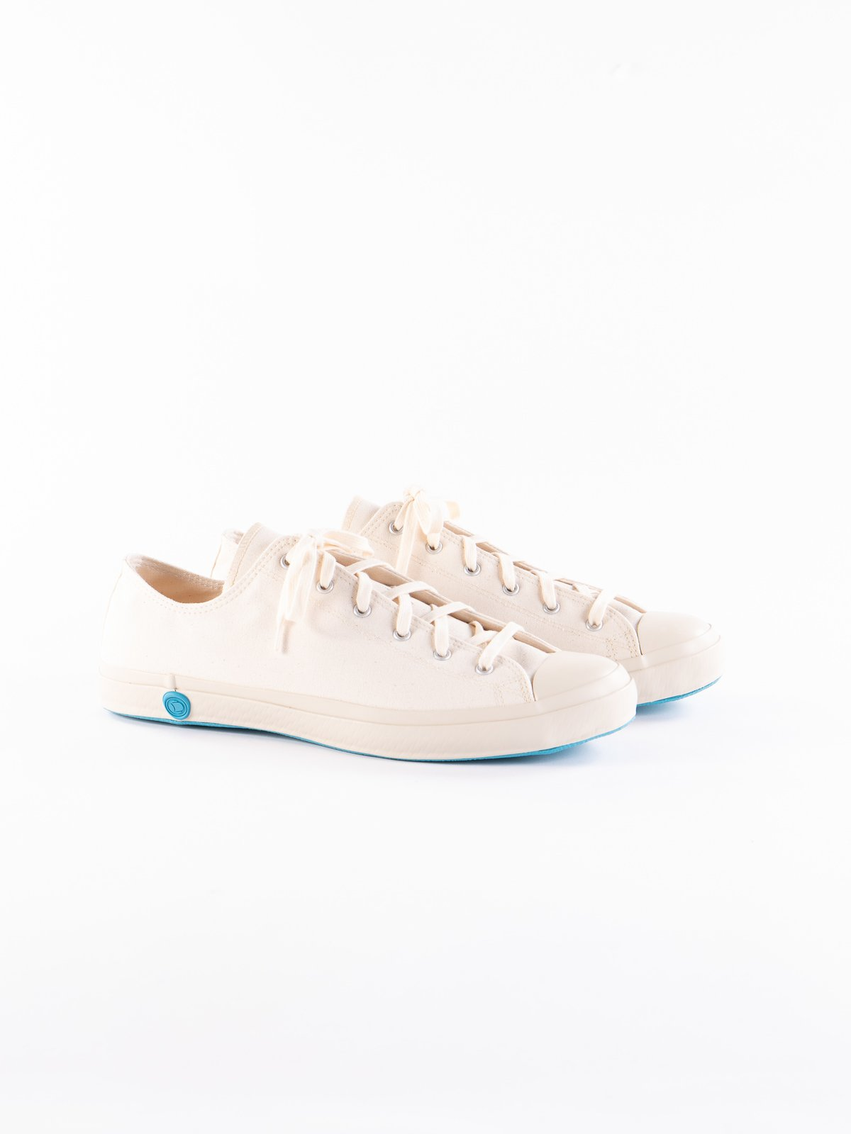 White 01JP Low Trainer - Image 1