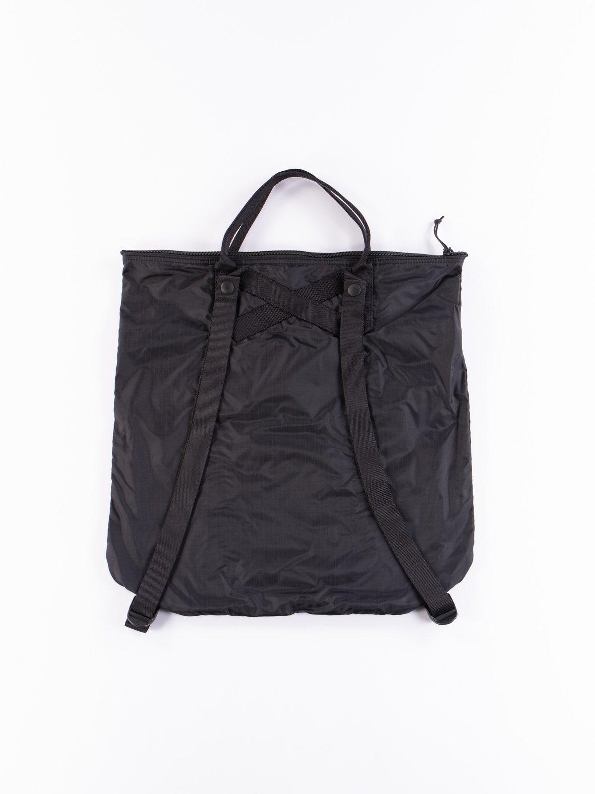 Black Flex 2Way Tote Bag - Image 3