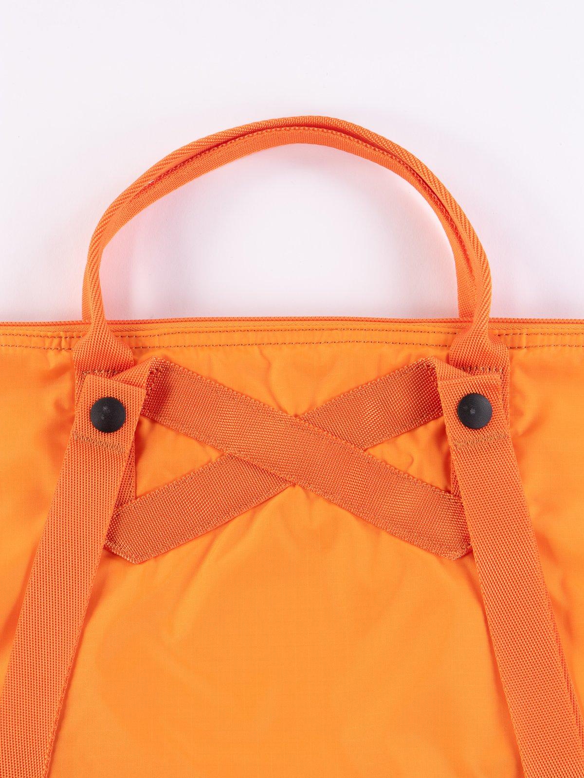 Orange Flex 2Way Tote Bag - Image 4
