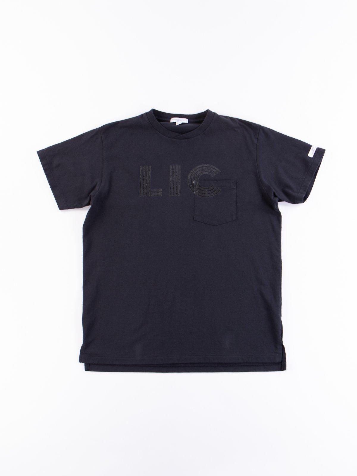Navy LIC Printed T–Shirt - Image 1