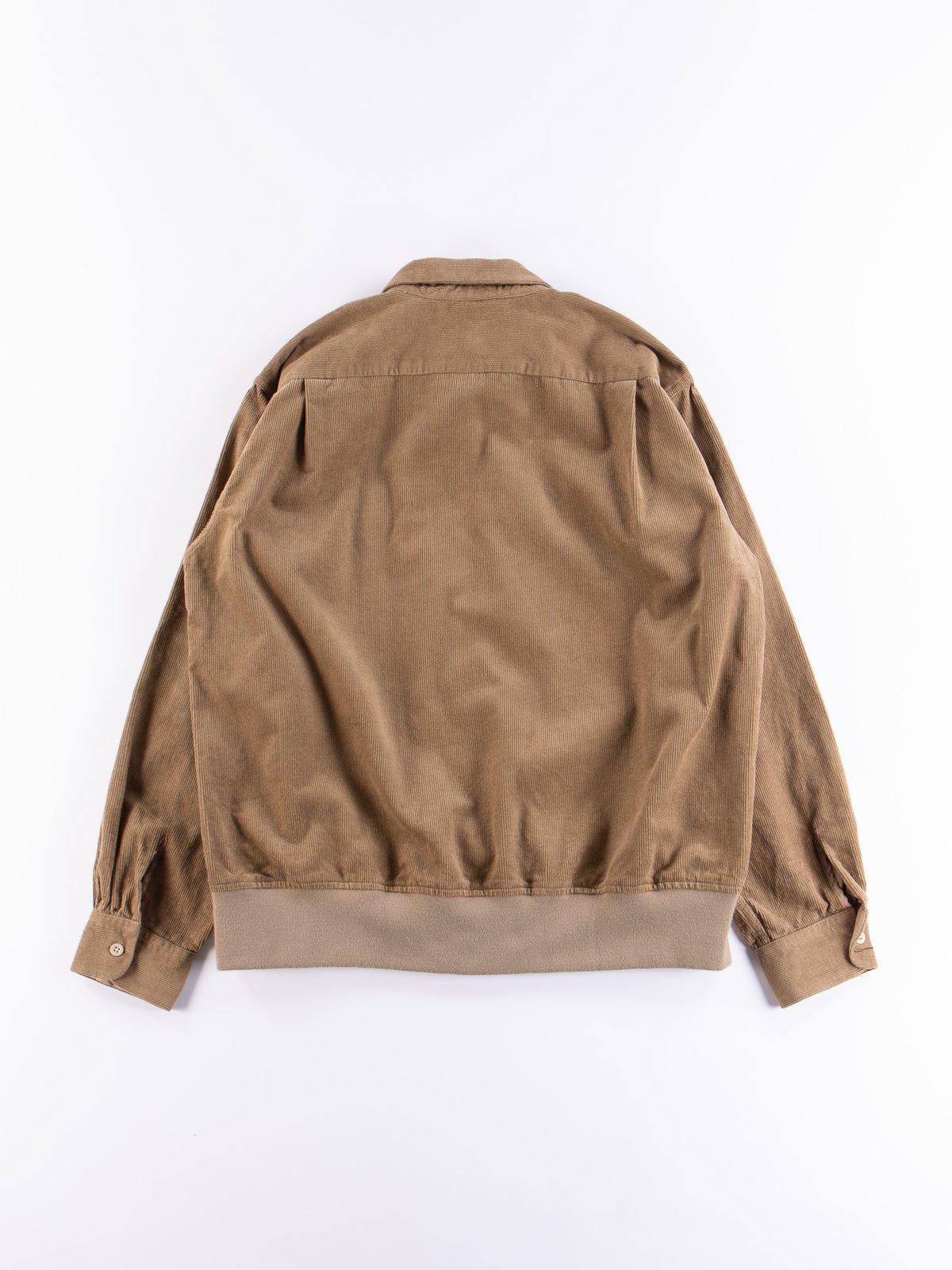 Khaki 14W Corduroy Classic Shirt - Image 7