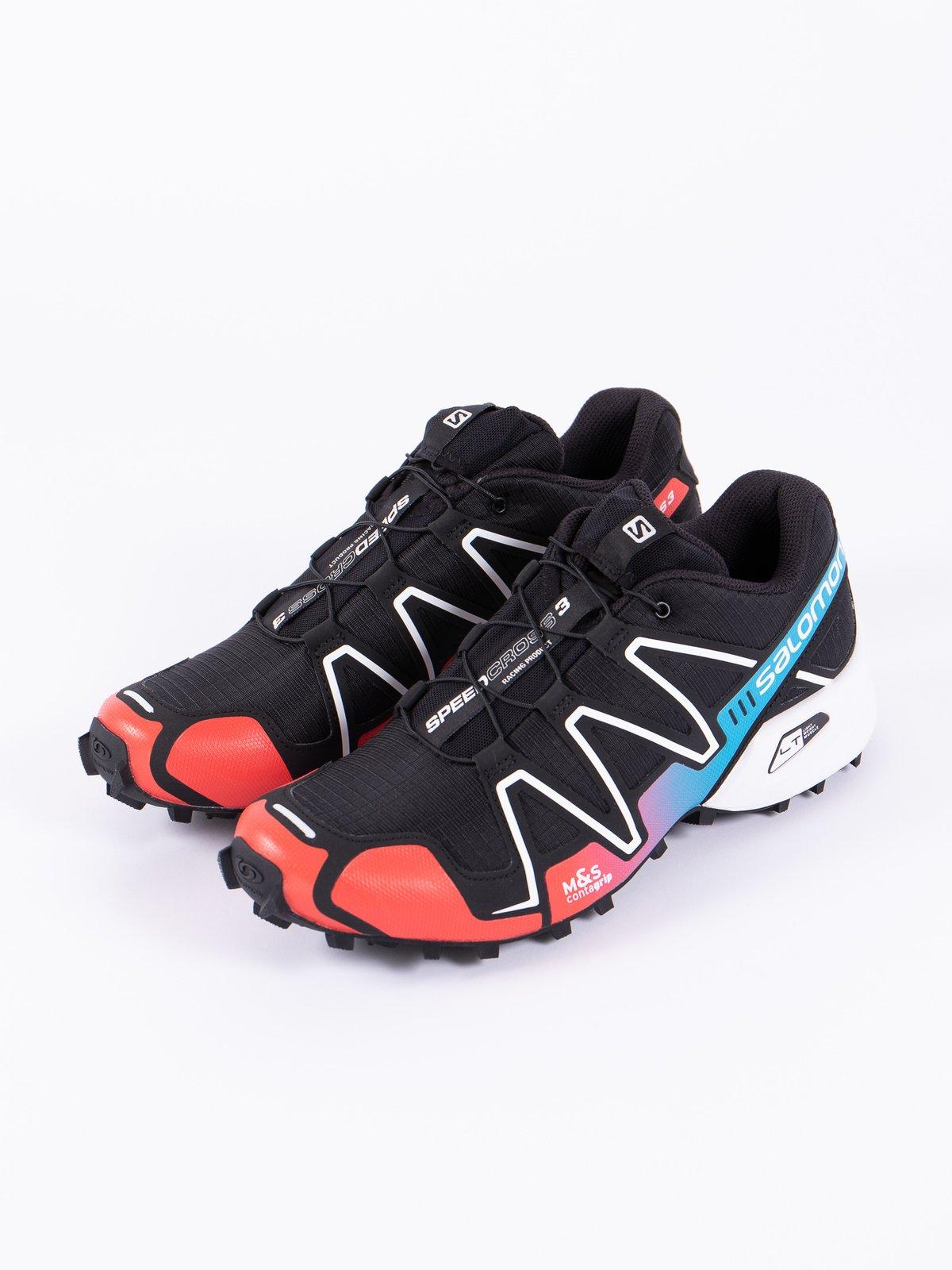 Black/Red/Transcend Blue Speedcross 3 Adv - Image 2