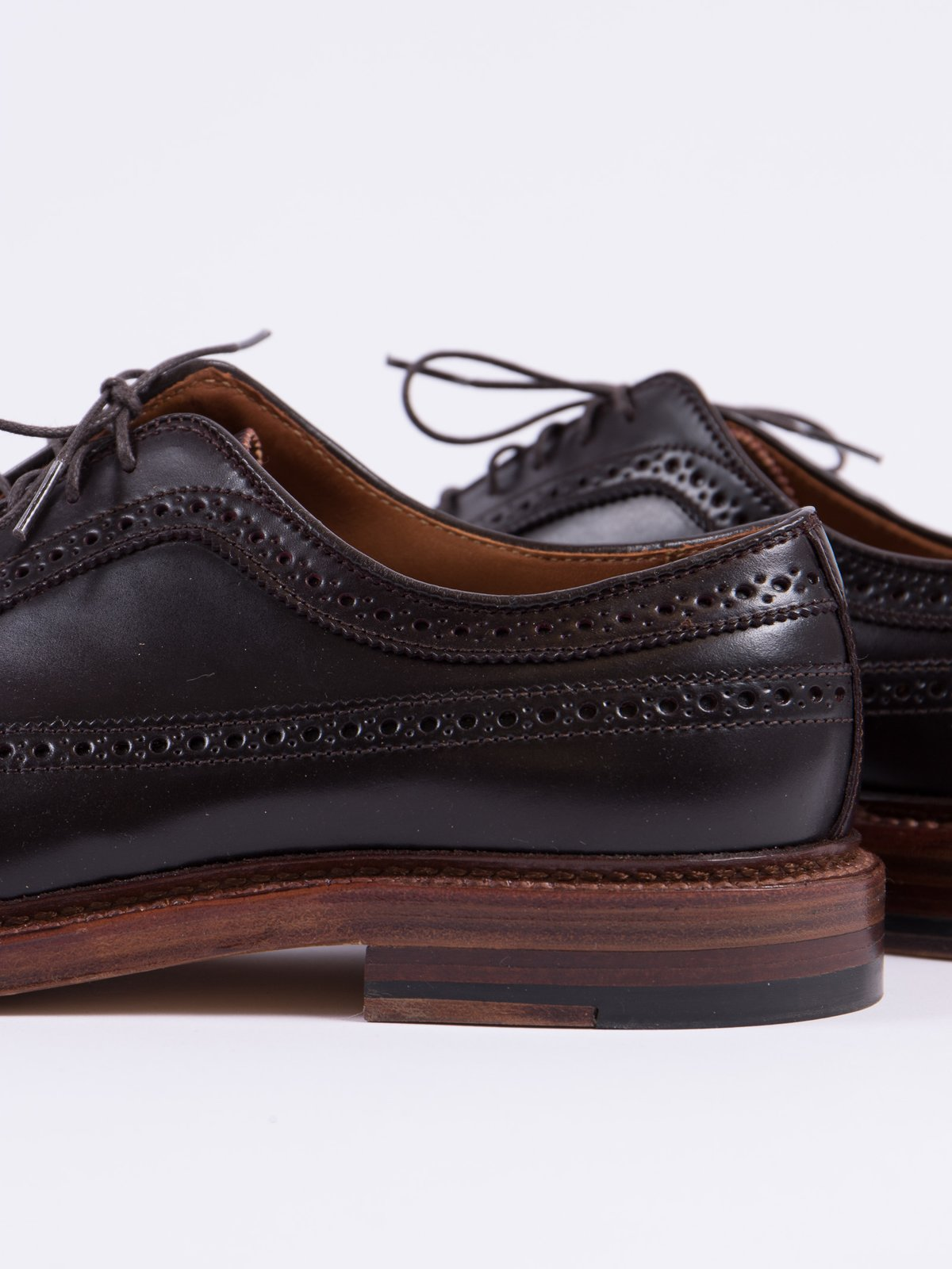Color 8 Cordovan Long Wing Blucher - Image 4