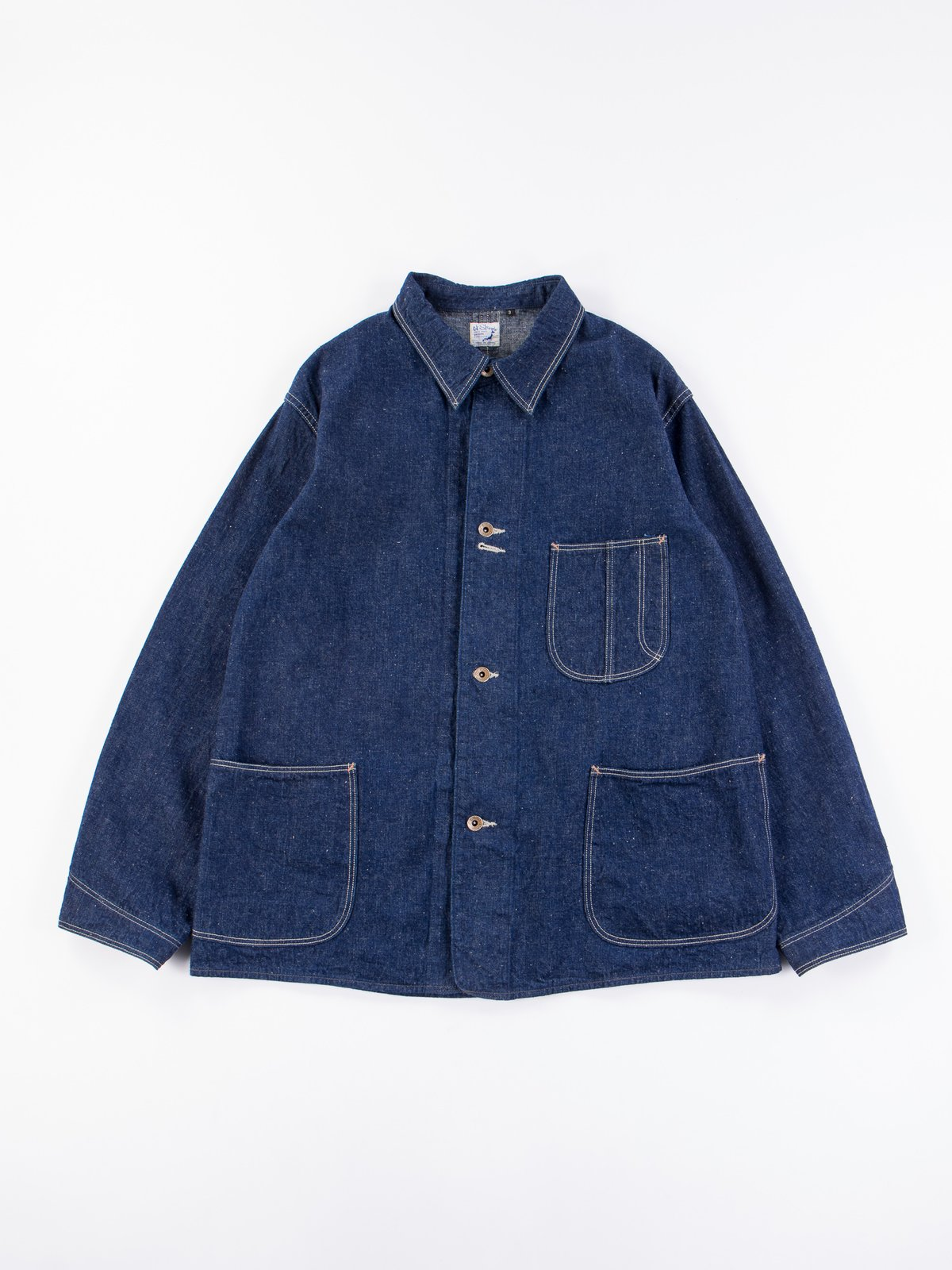 One Wash Denim 40's Coverall - Image 1