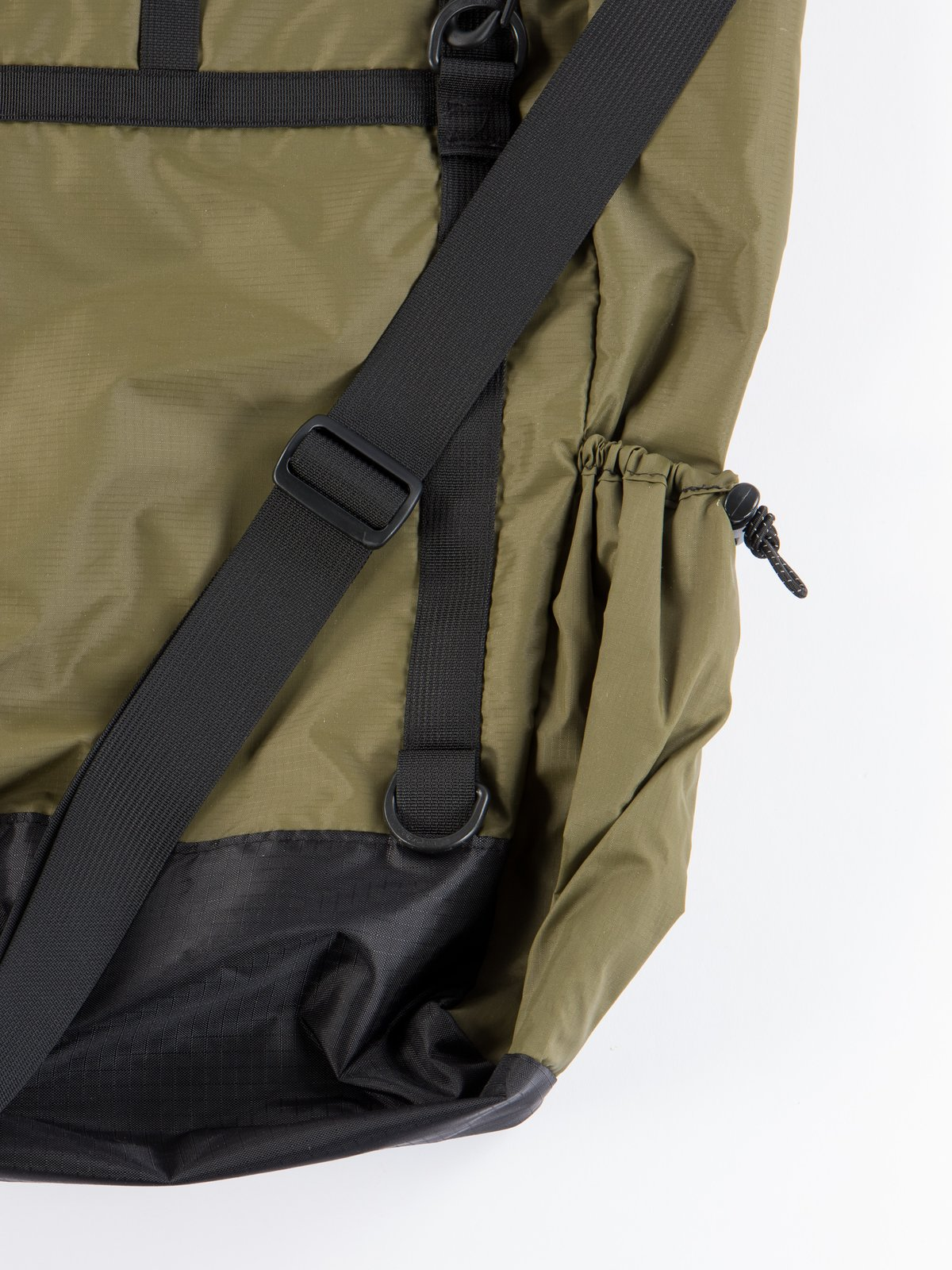 Olive Nylon Ripstop UL 3 Way Bag - Image 4