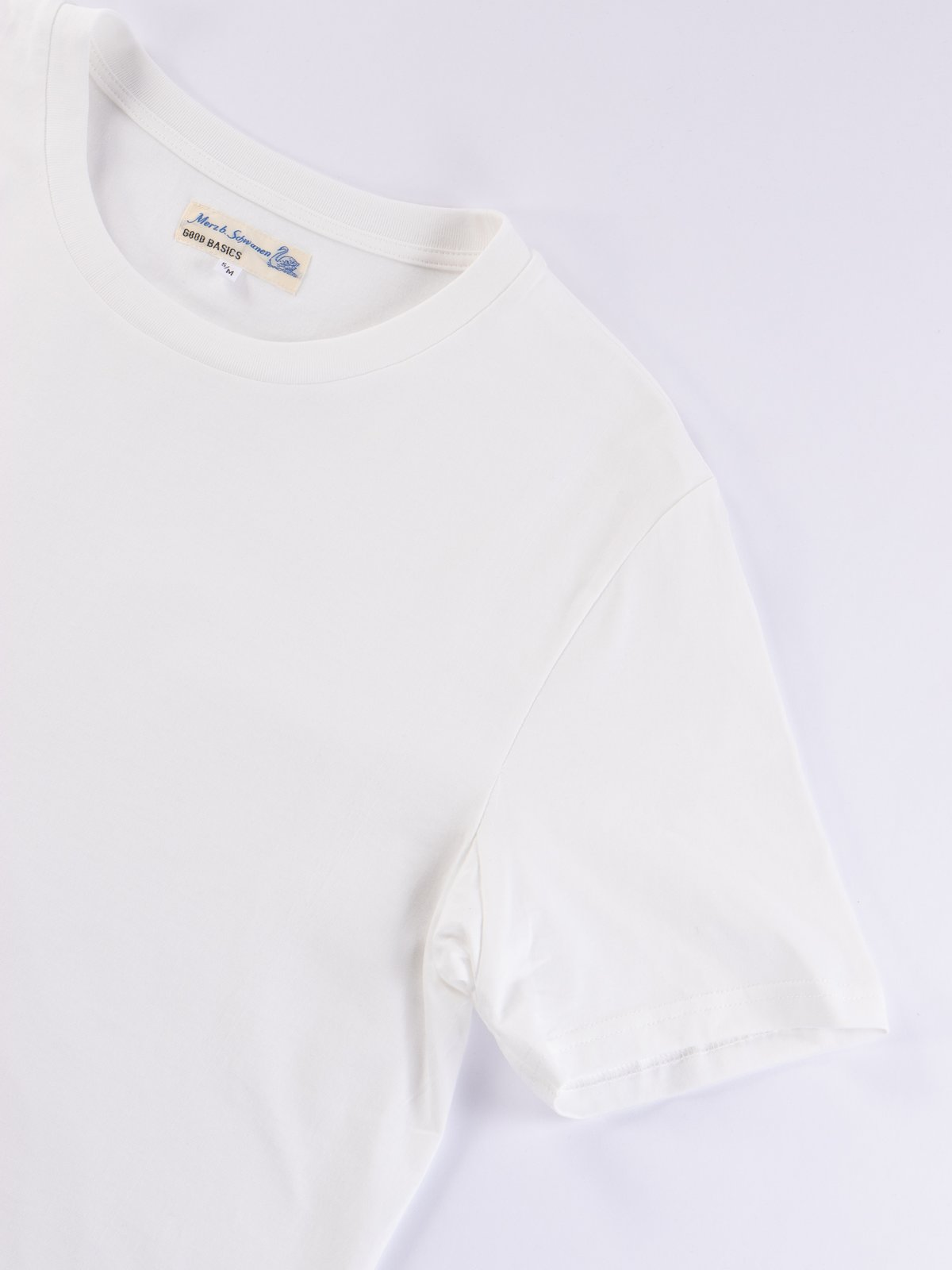 White Good Basics CT01 Crew Neck Tee - Image 4