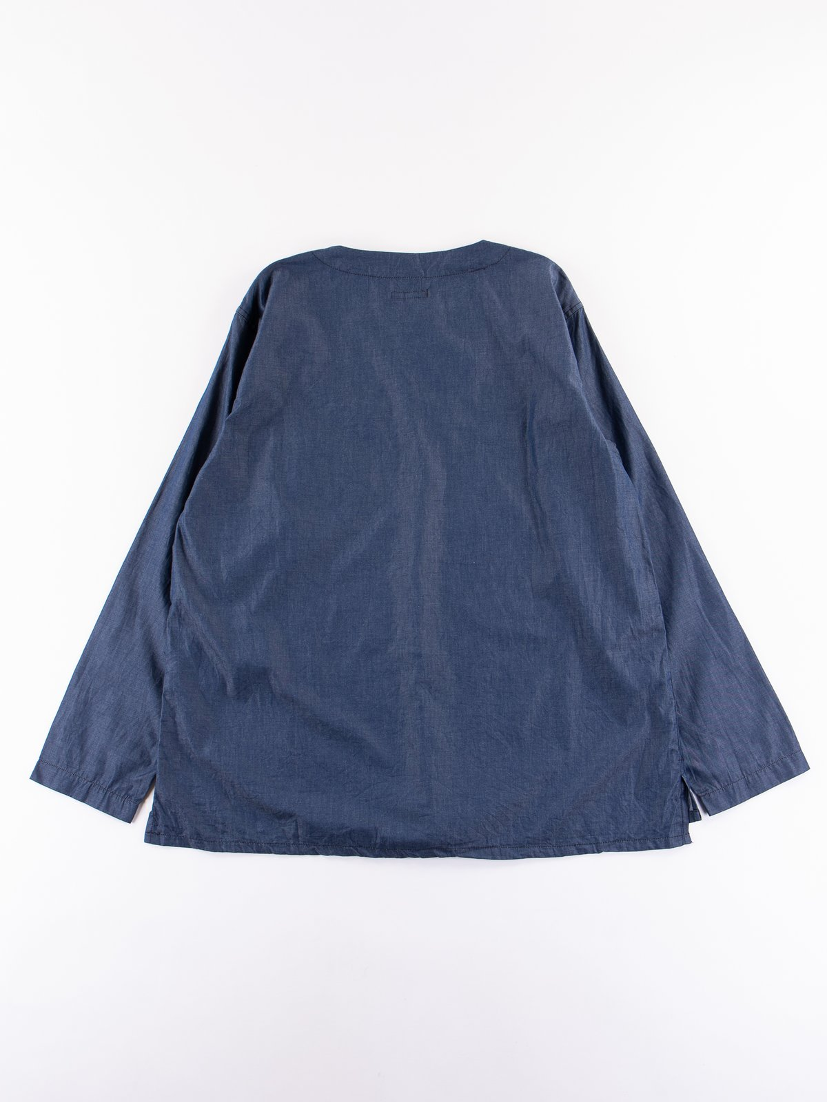 Navy Light Weight Denim MED Shirt - Image 5