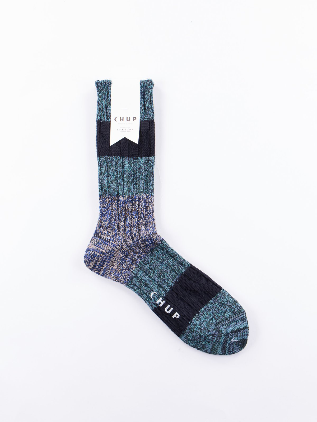 Blue Stratum Socks - Image 1