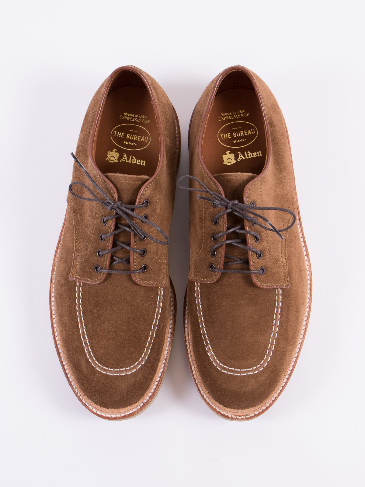 Snuff Suede Indy Work Shoe - Image 6