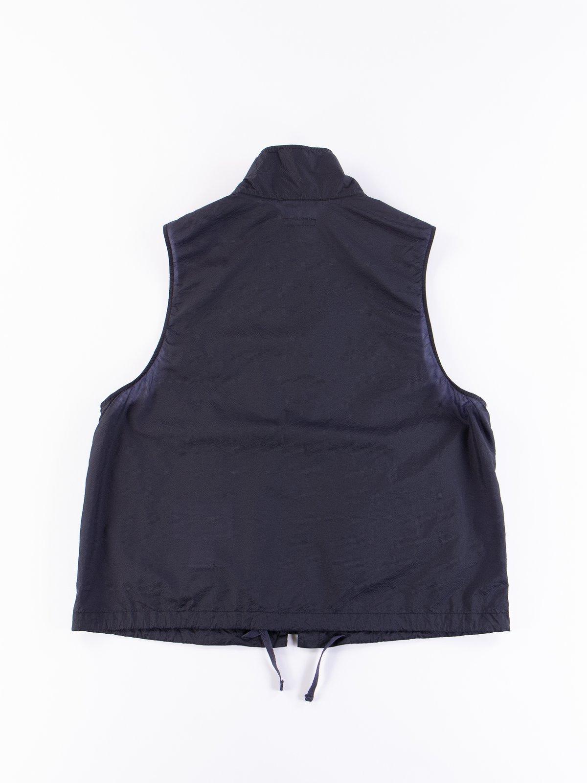 Dark Navy Nylon Micro Ripstop Field Vest - Image 5