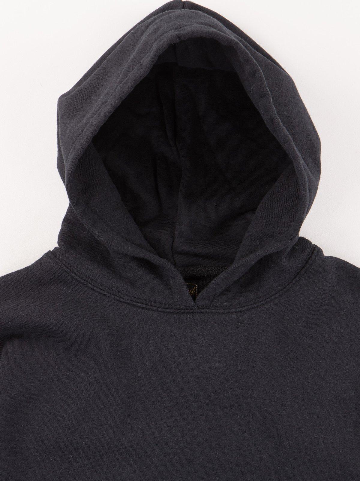 Black Gusset Pullover Parka - Image 5
