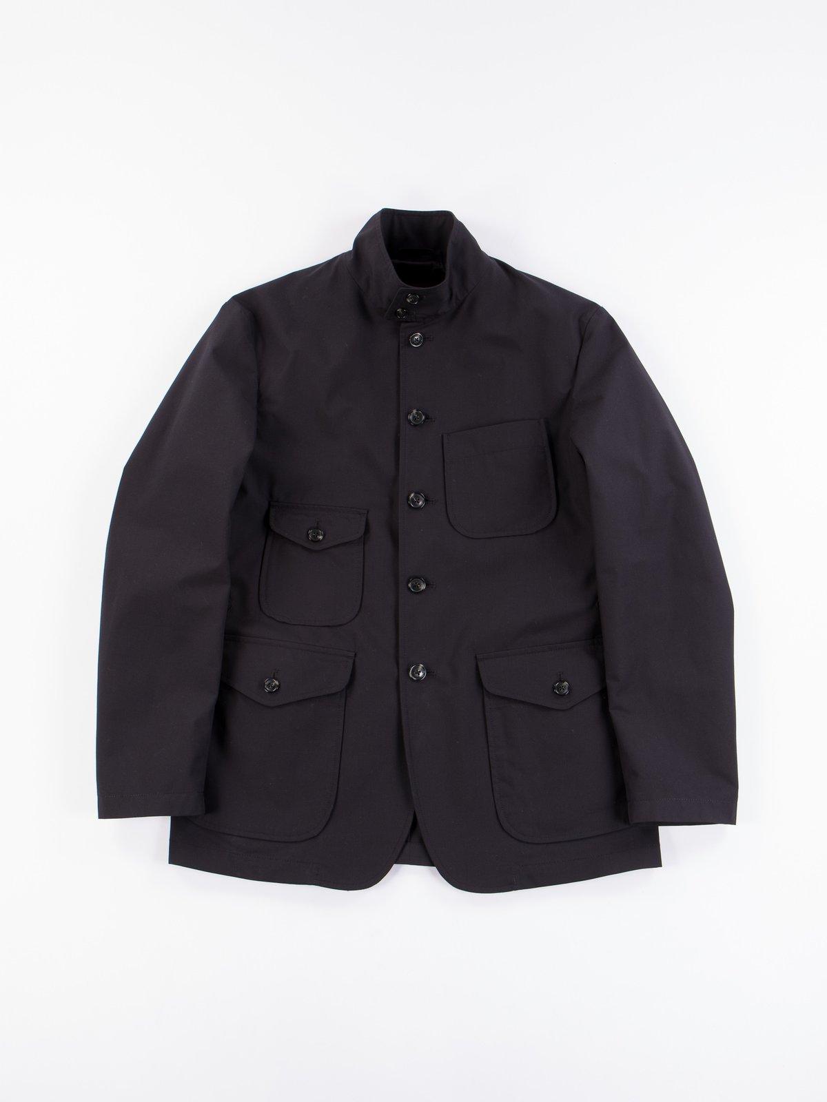 Black Structured EG Blazer - Image 1