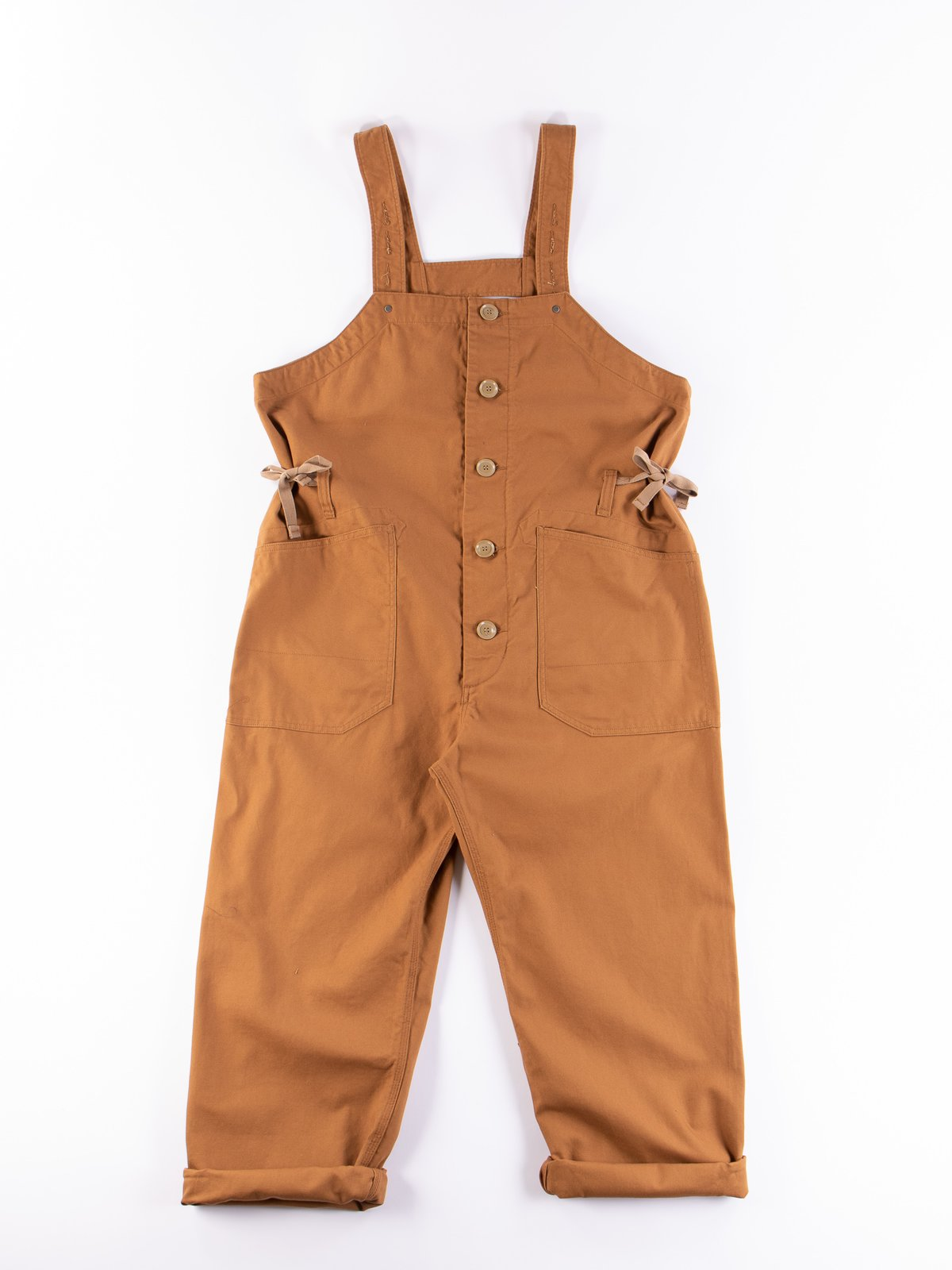 Brown 12oz Duck Canvas Waders - Image 1