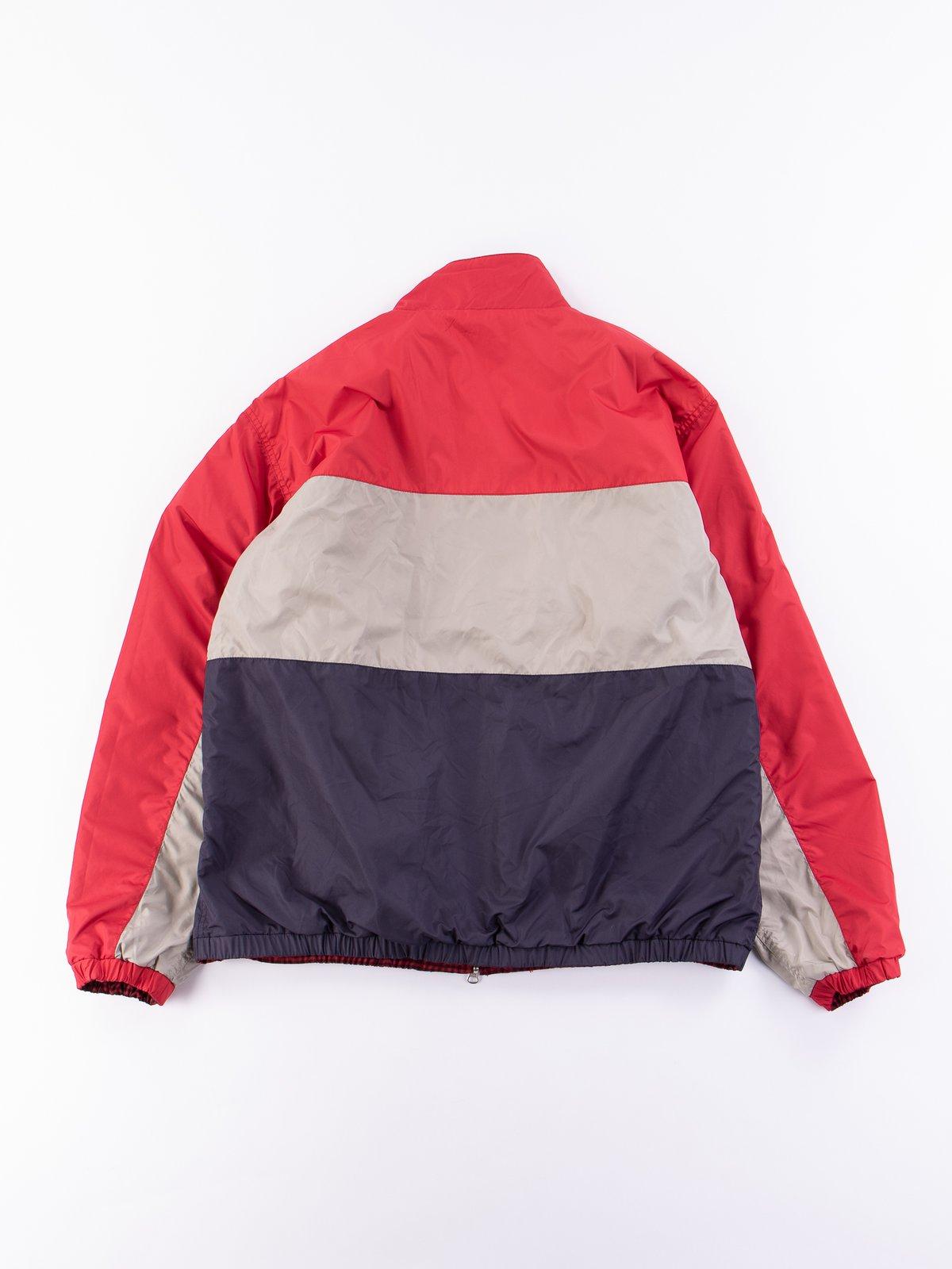 Red Gingham Reversible Jacket - Image 9
