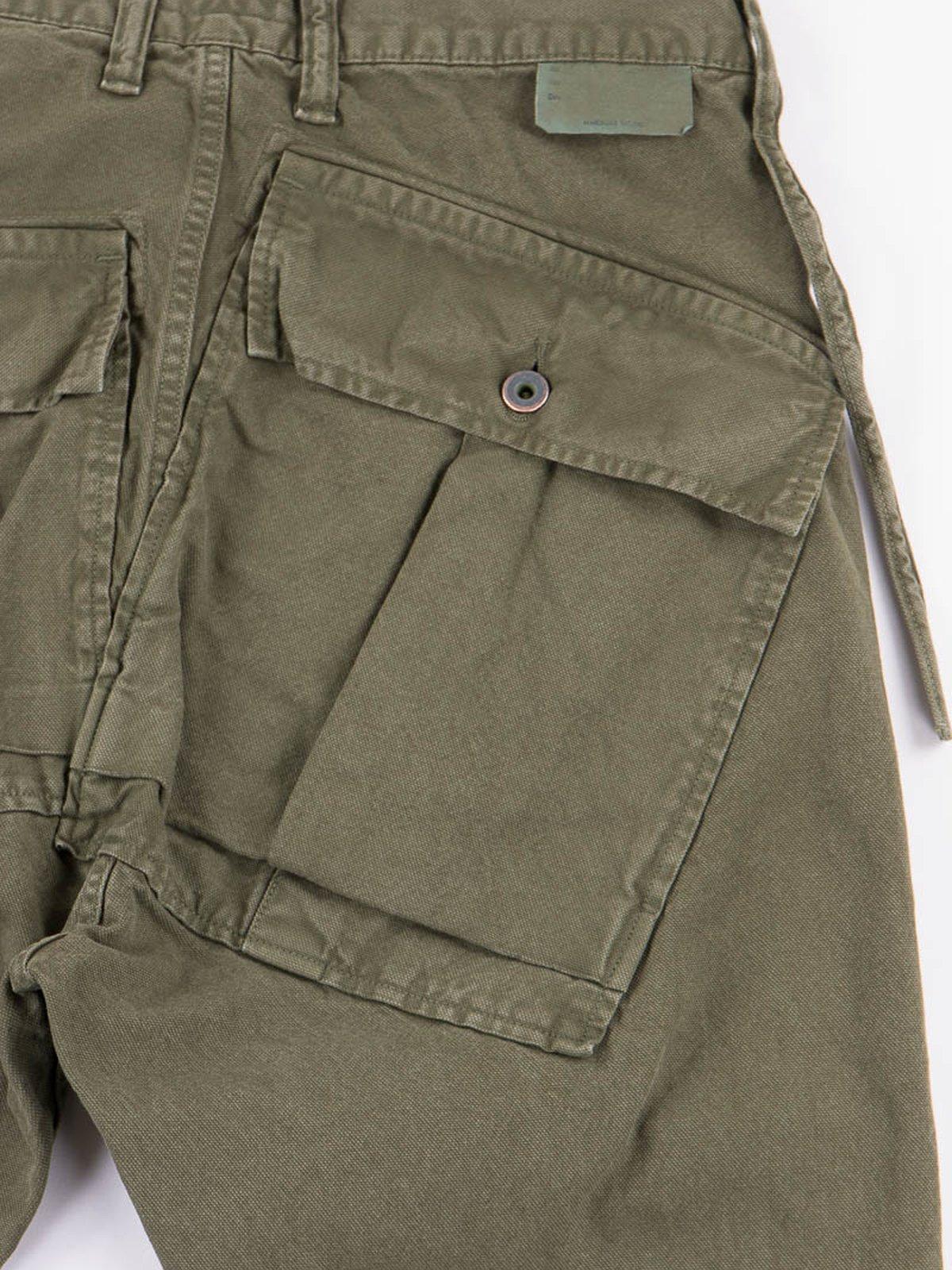 Olive Light Canvas Ringo Man Cargo Pant - Image 5