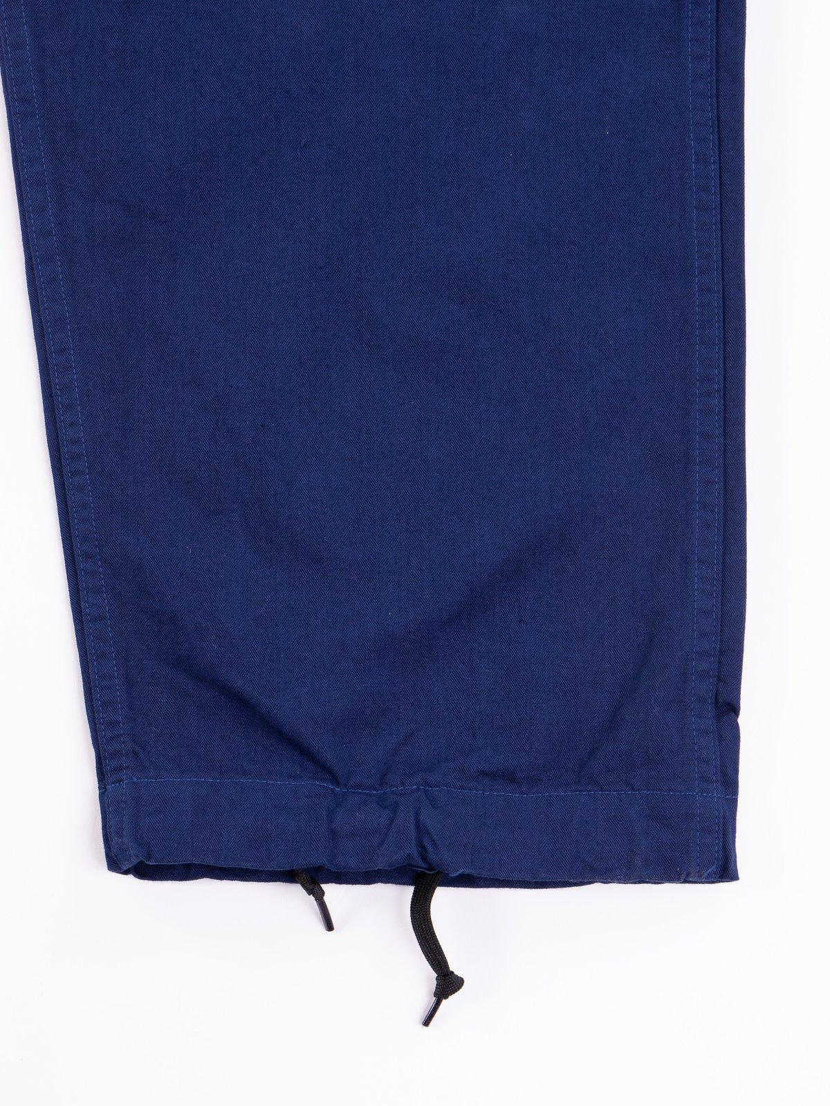 Ink Blue Herringbone TBB Service Pant - Image 5