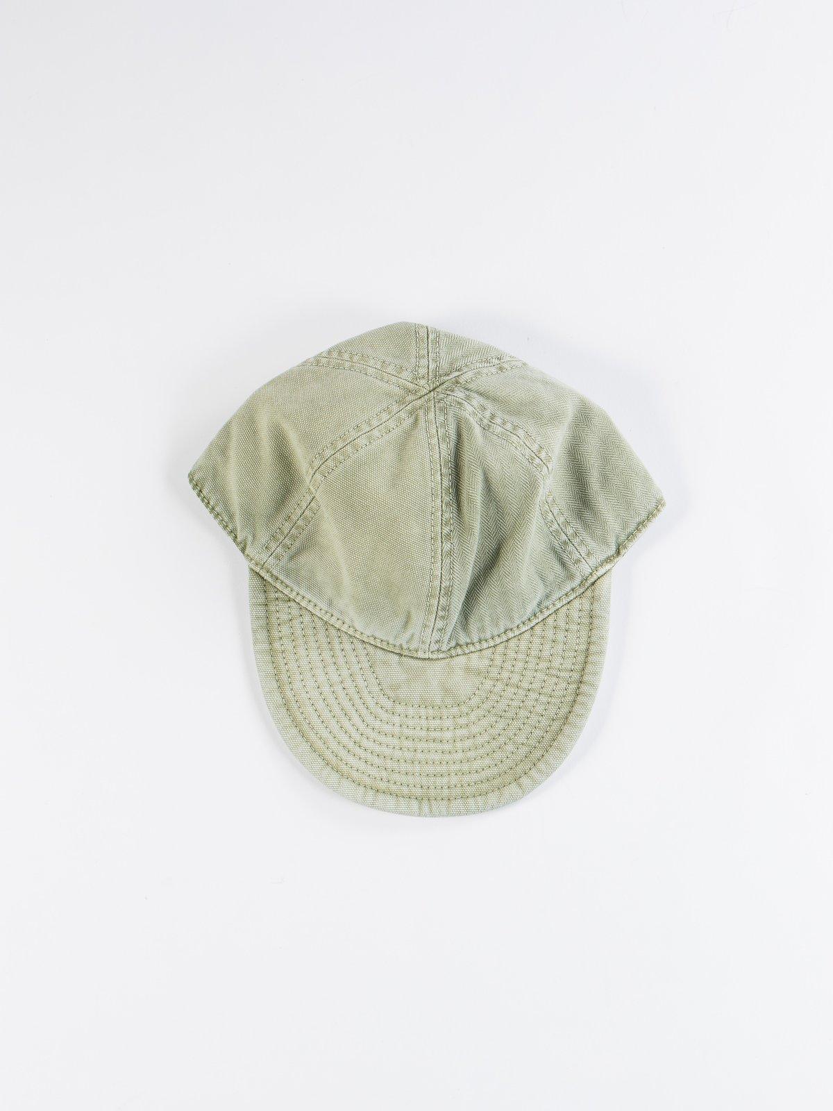 Washed Army Mechanics Cap - Image 1