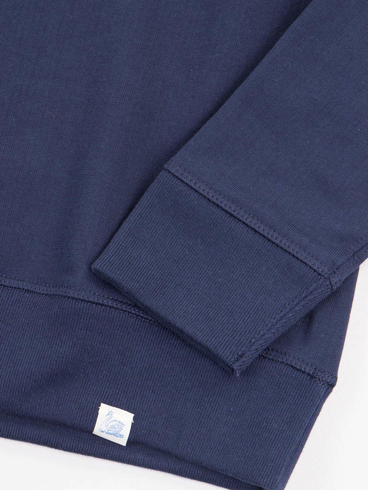Ink Blue 346OS Organic Cotton Oversized Sweater - Image 3