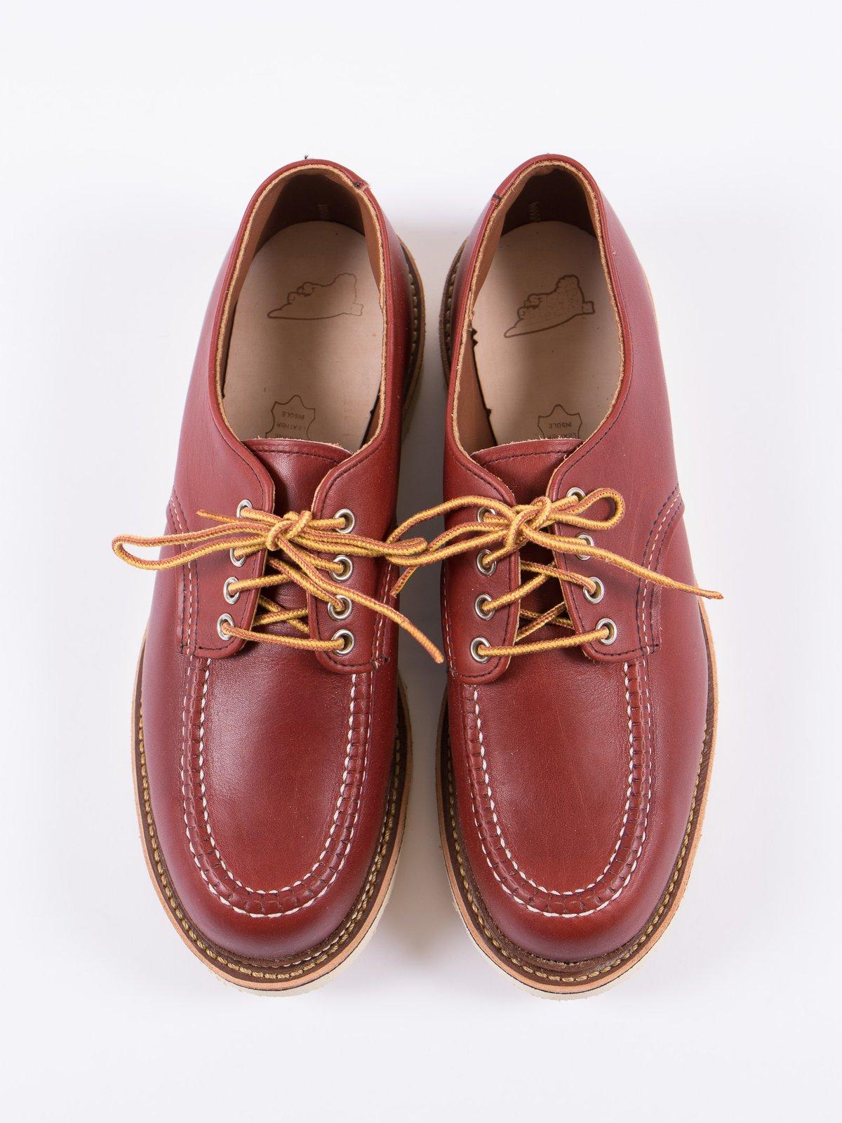 Oro Russet Portage 8103 Classic Oxford Shoe - Image 5
