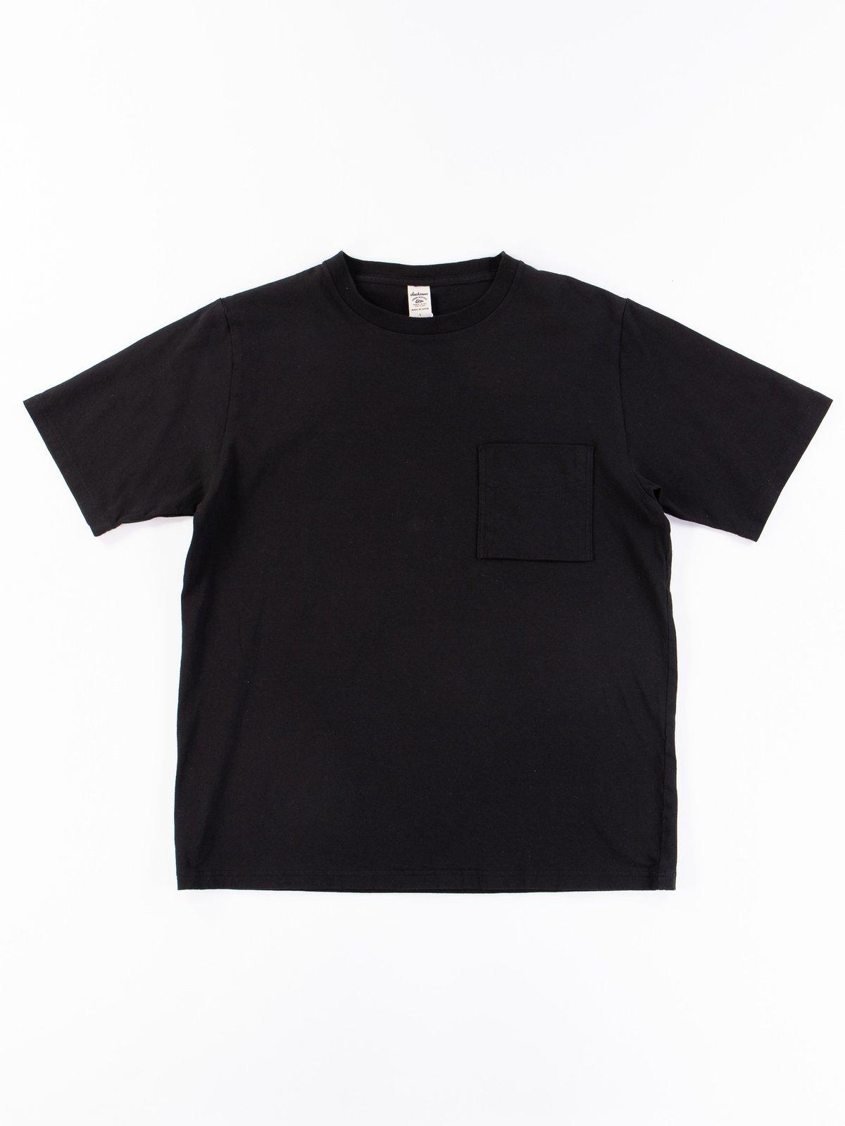 Black Pocket T–Shirt - Image 1
