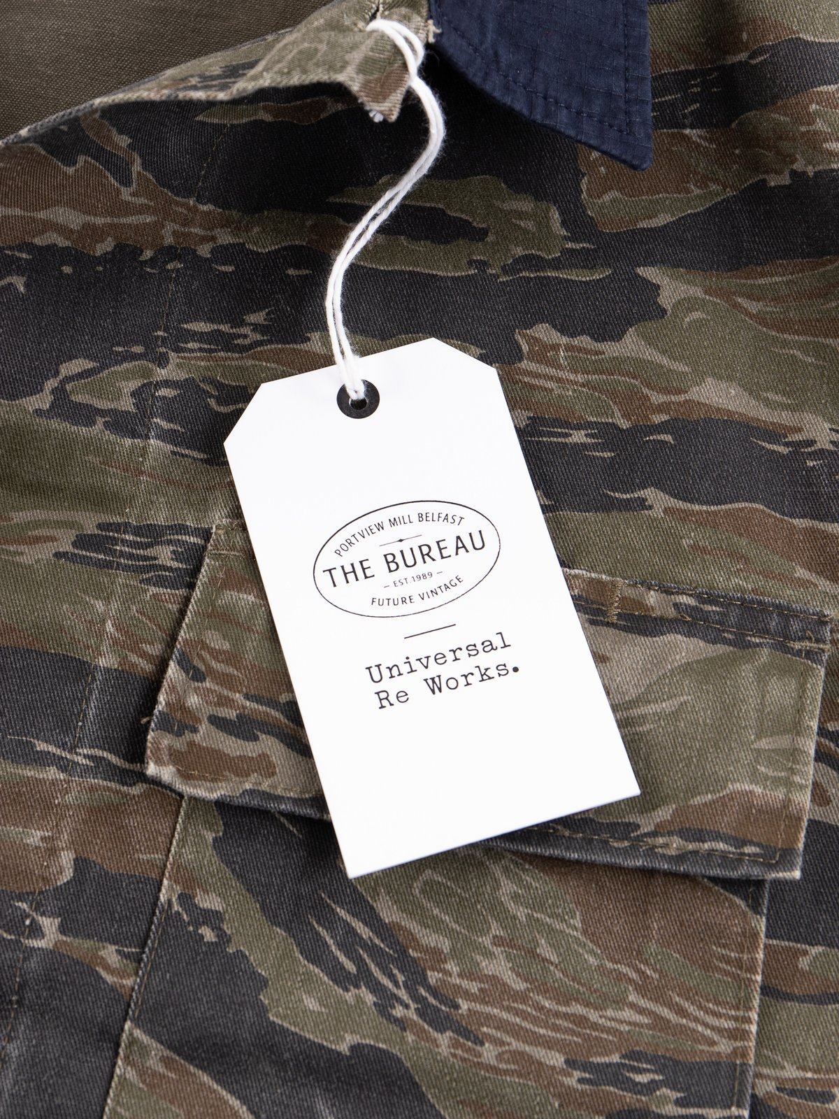 Reworks Camo/Navy Field Jacket - Image 9