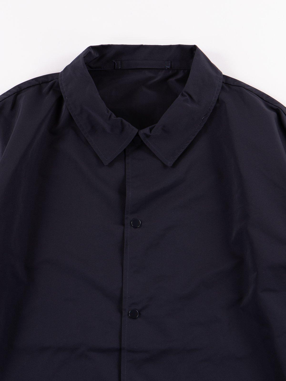 Navy Coach Jacket - Image 4