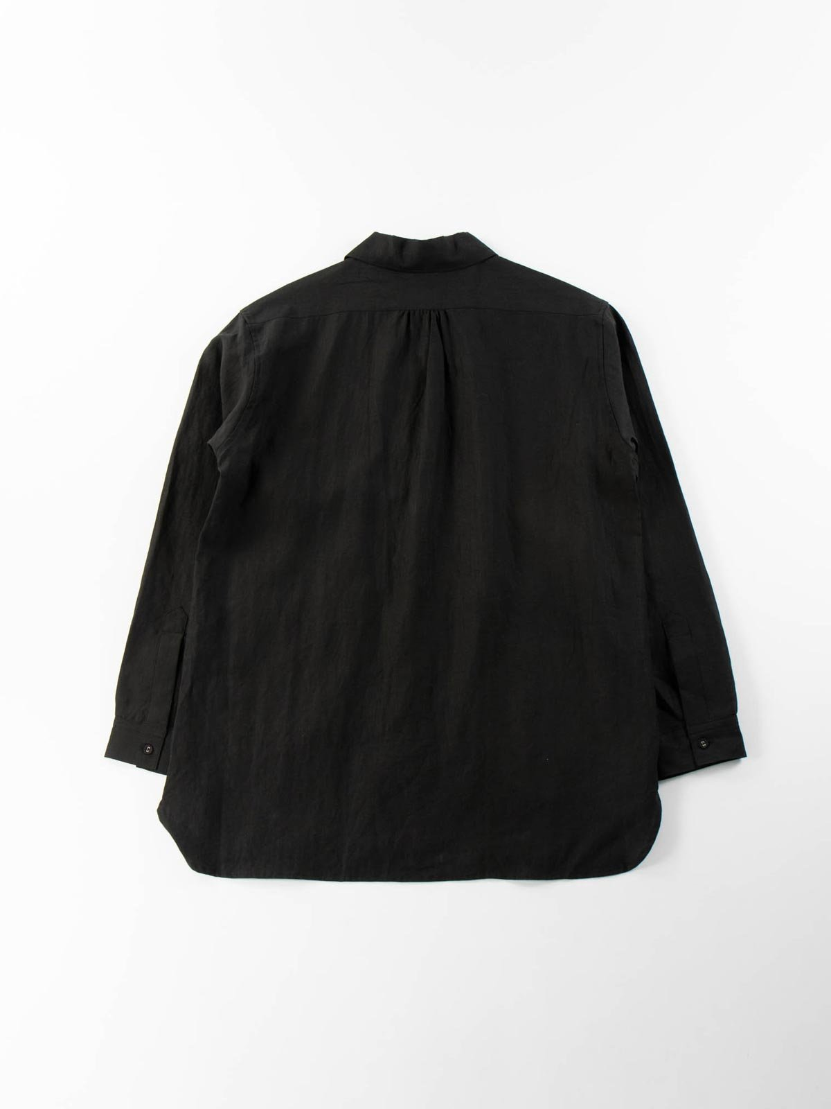 LINEN GARDNER SHIRT BLACK - Image 6