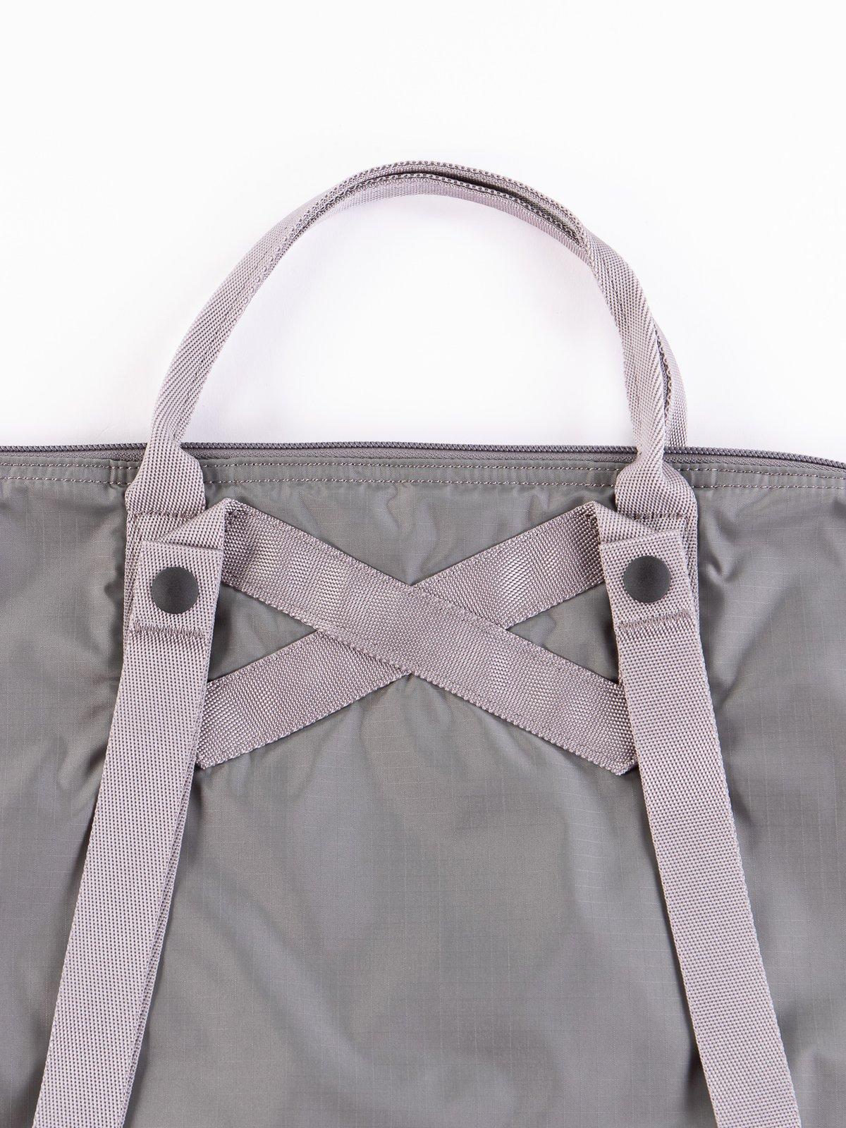 Grey Flex 2Way Tote Bag - Image 5