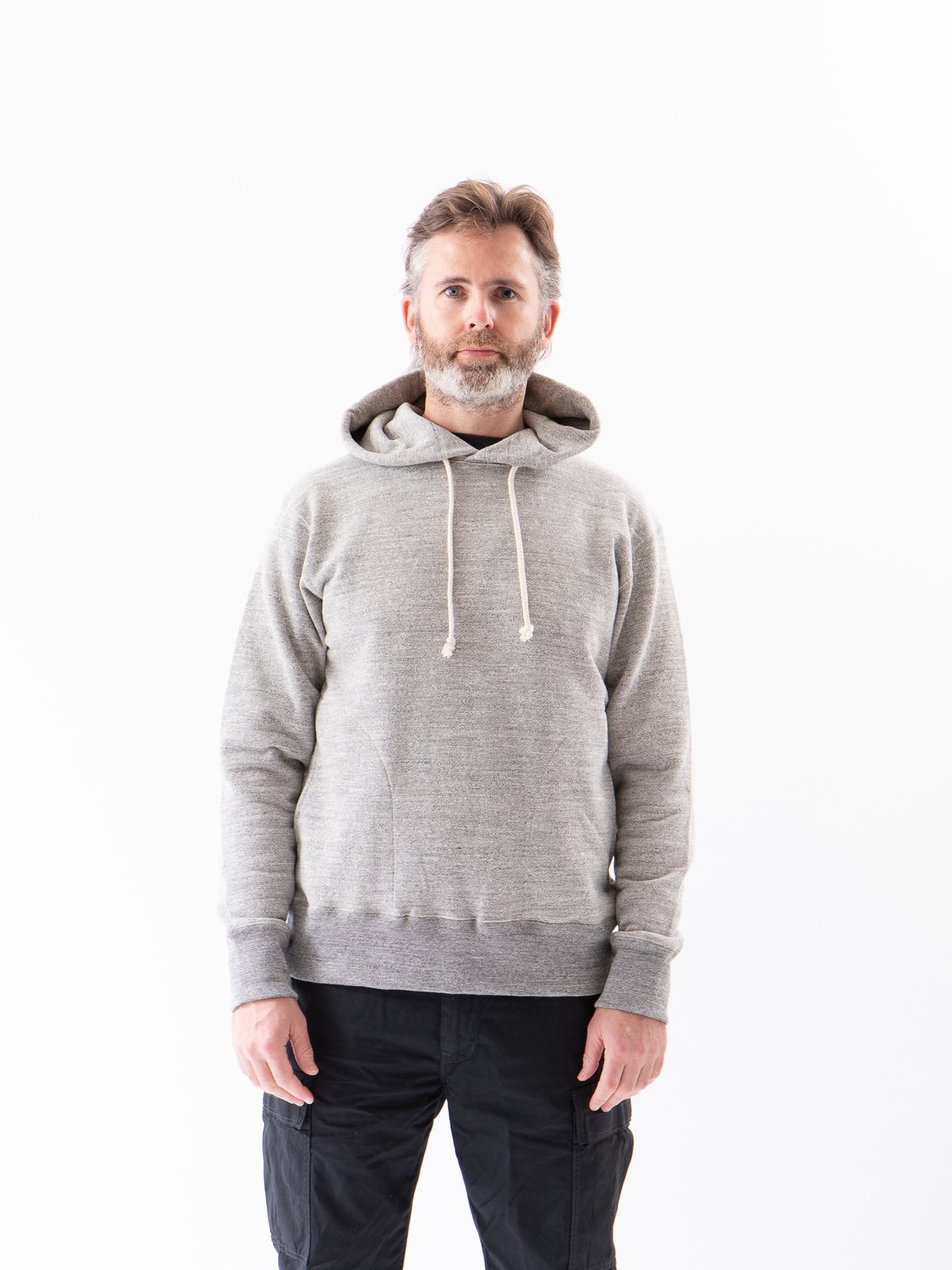 Heather Grey GG Sweat Pullover Parka - Image 2