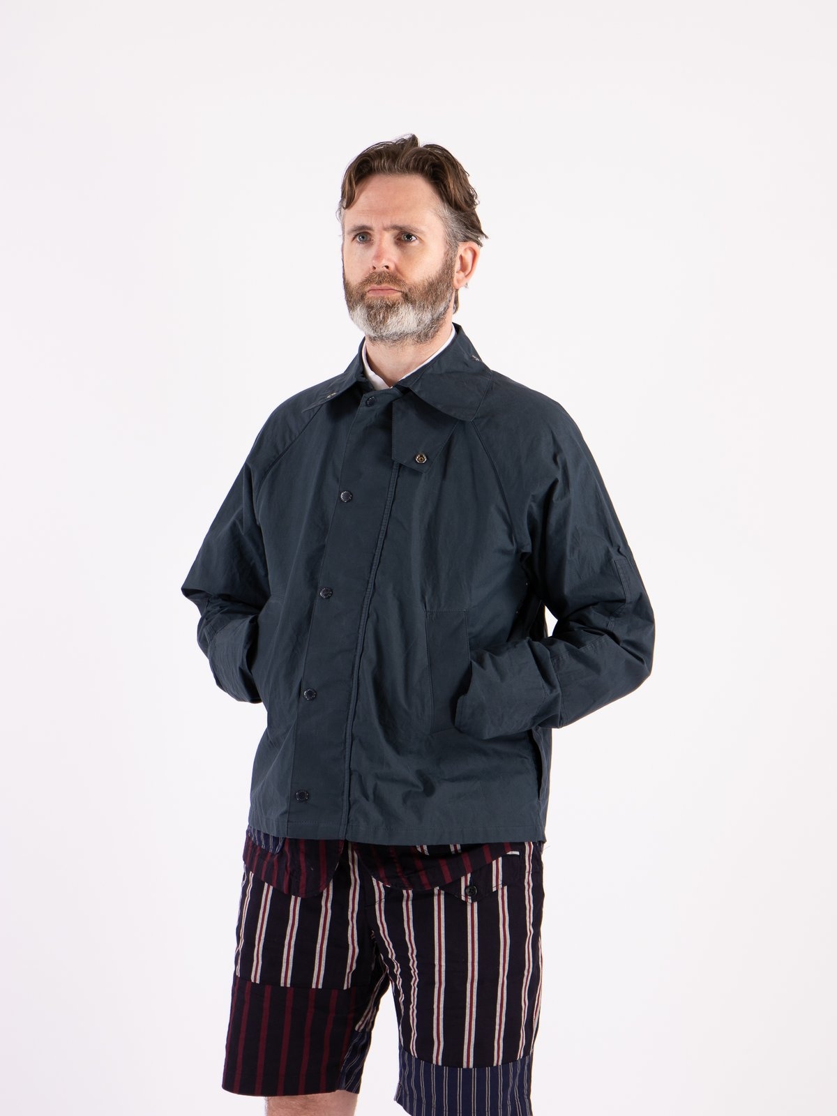 Navy Unlined Graham Jacket - Image 2