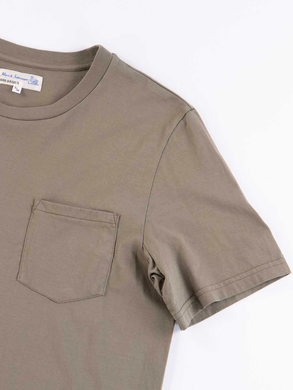 Army Good Basics CTP01 Pocket Crew Neck Tee - Image 4