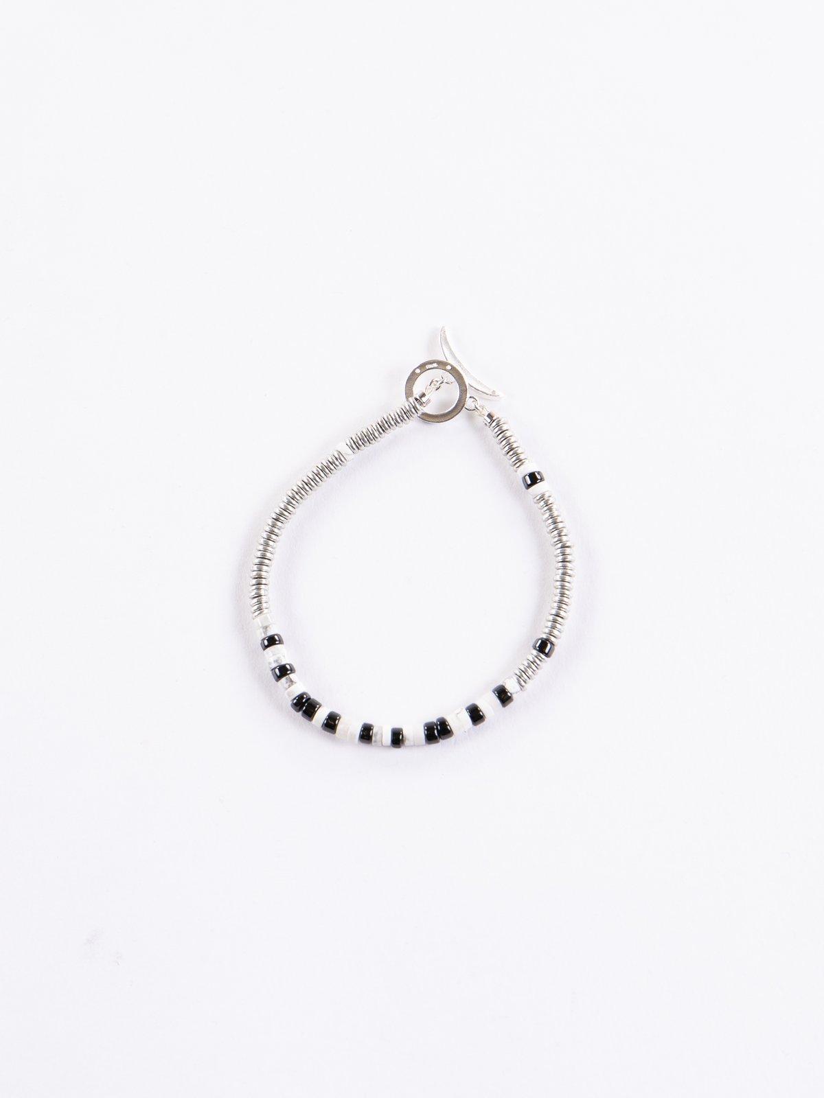 Howlite Tube Beads Bracelet - Image 1