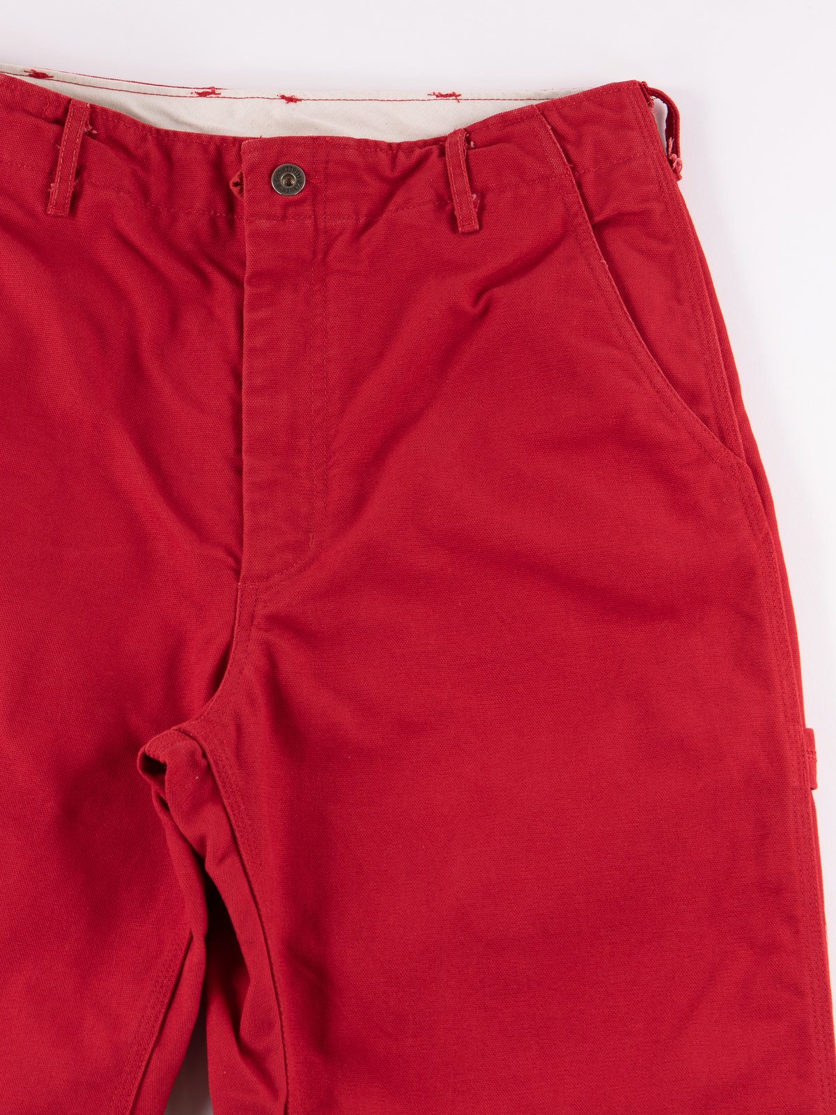 Red 12oz Duck Canvas Logger Pant - Image 3