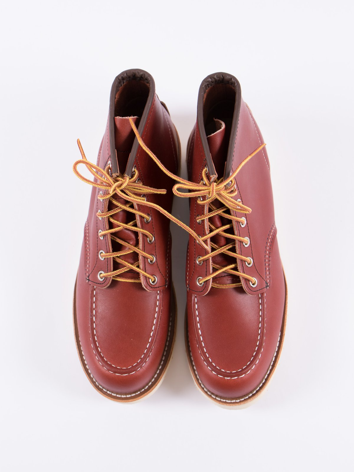 "ORO RUSSET PORTAGE 8131 HERITAGE 6"" MOC TOE BOOT - Image 5"