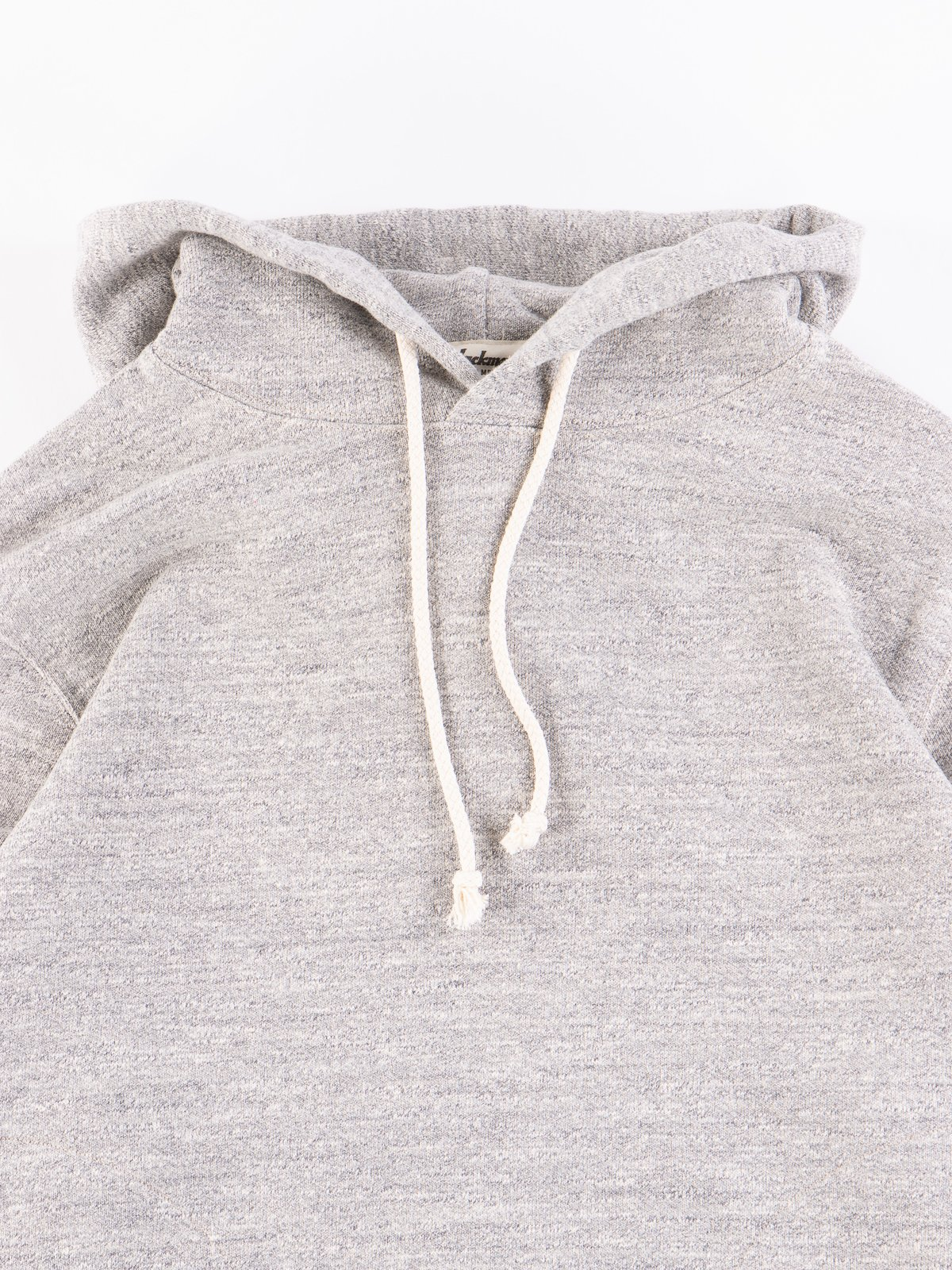 Heather Grey GG Sweat Pullover Parka - Image 3