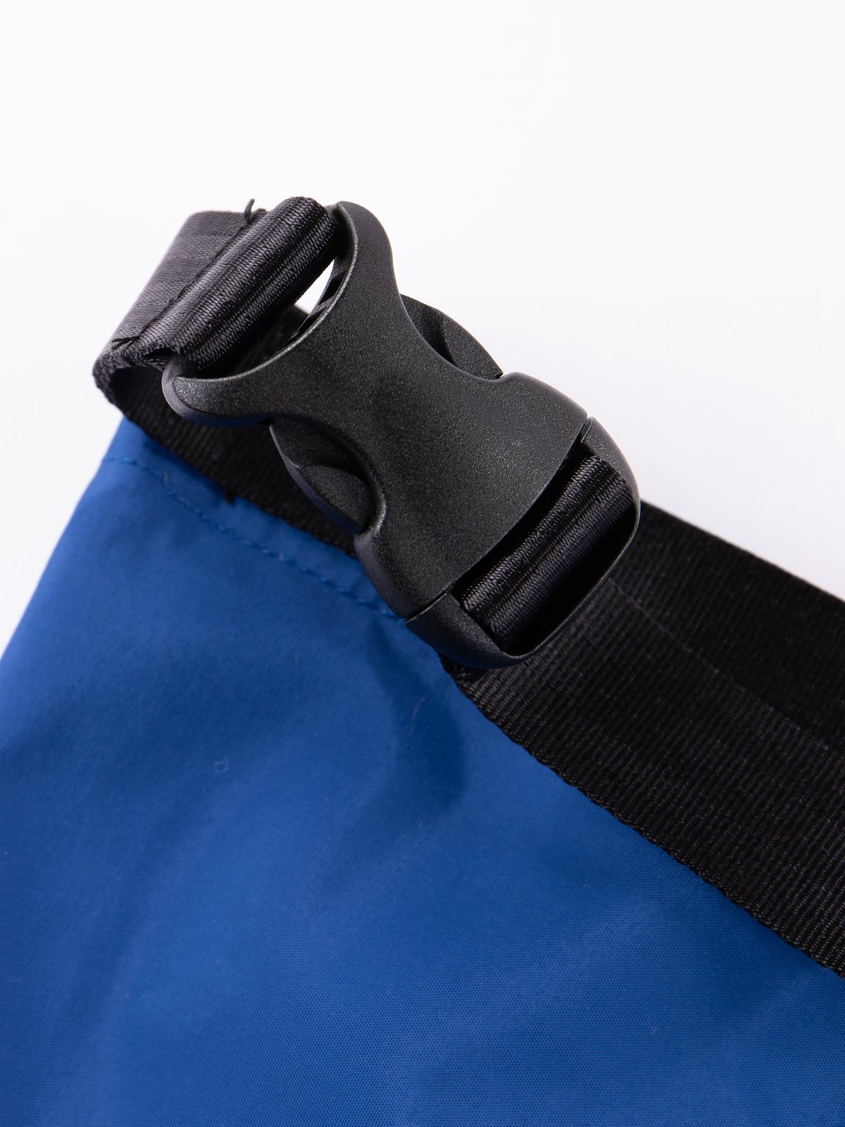 Blue Roll Nylon Shoulder Bag - Image 5