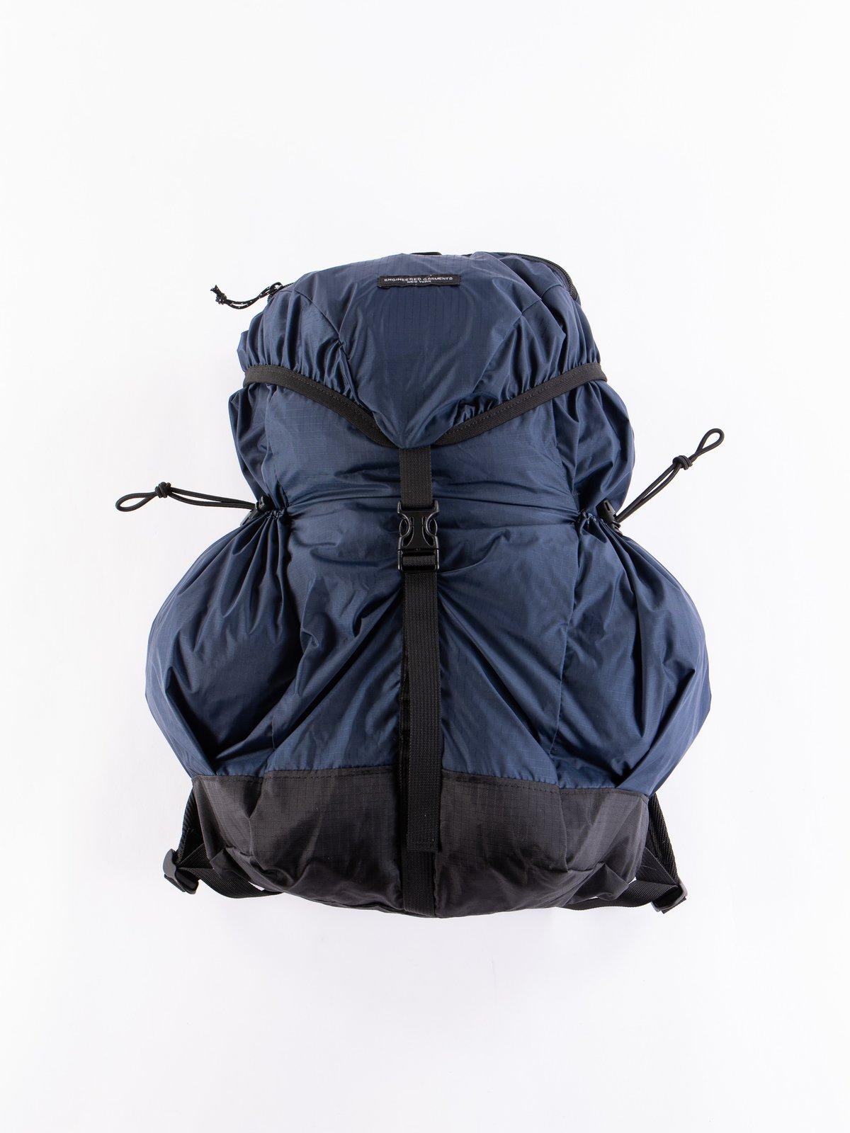 Navy Nylon Ripstop UL Backpack - Image 1