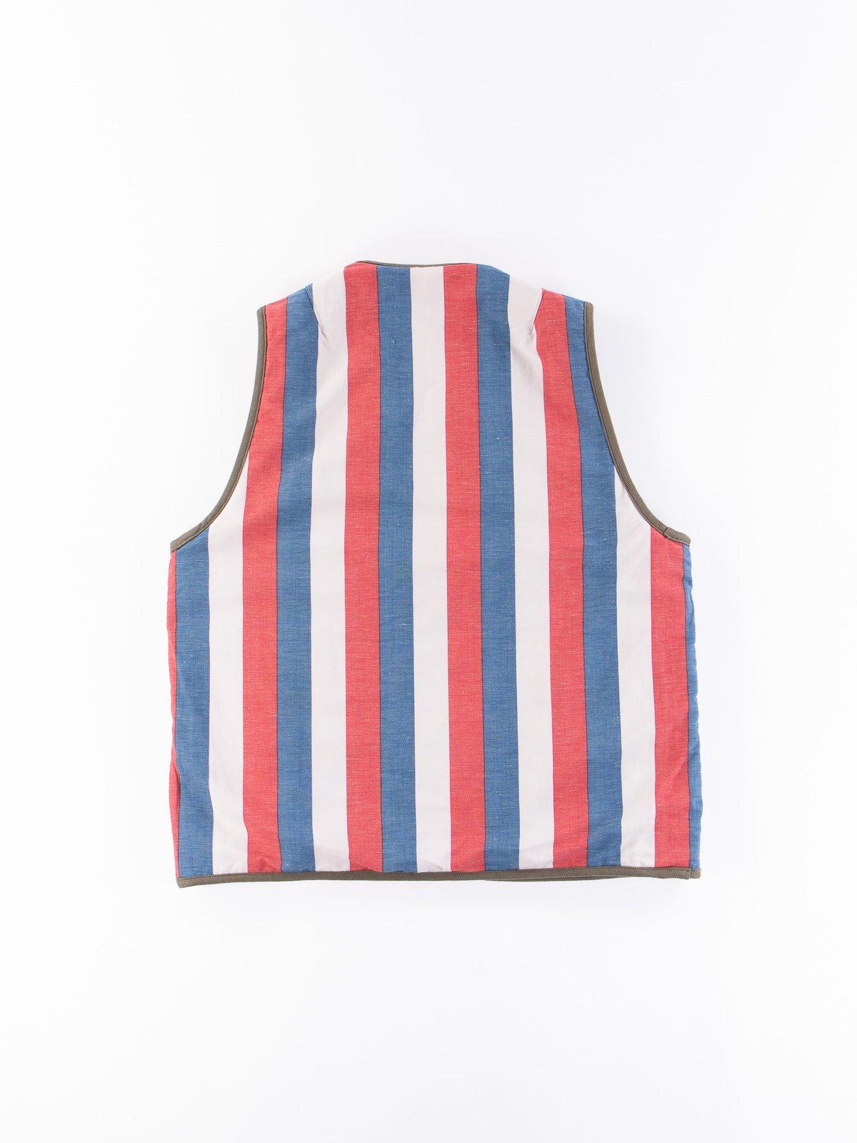 Olive Iris Cotton Liner Vest - Image 11
