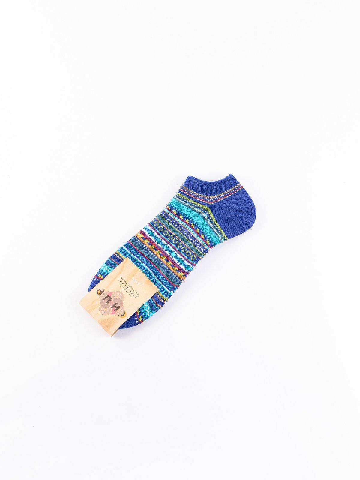 Navy Linda Ankle Socks - Image 1