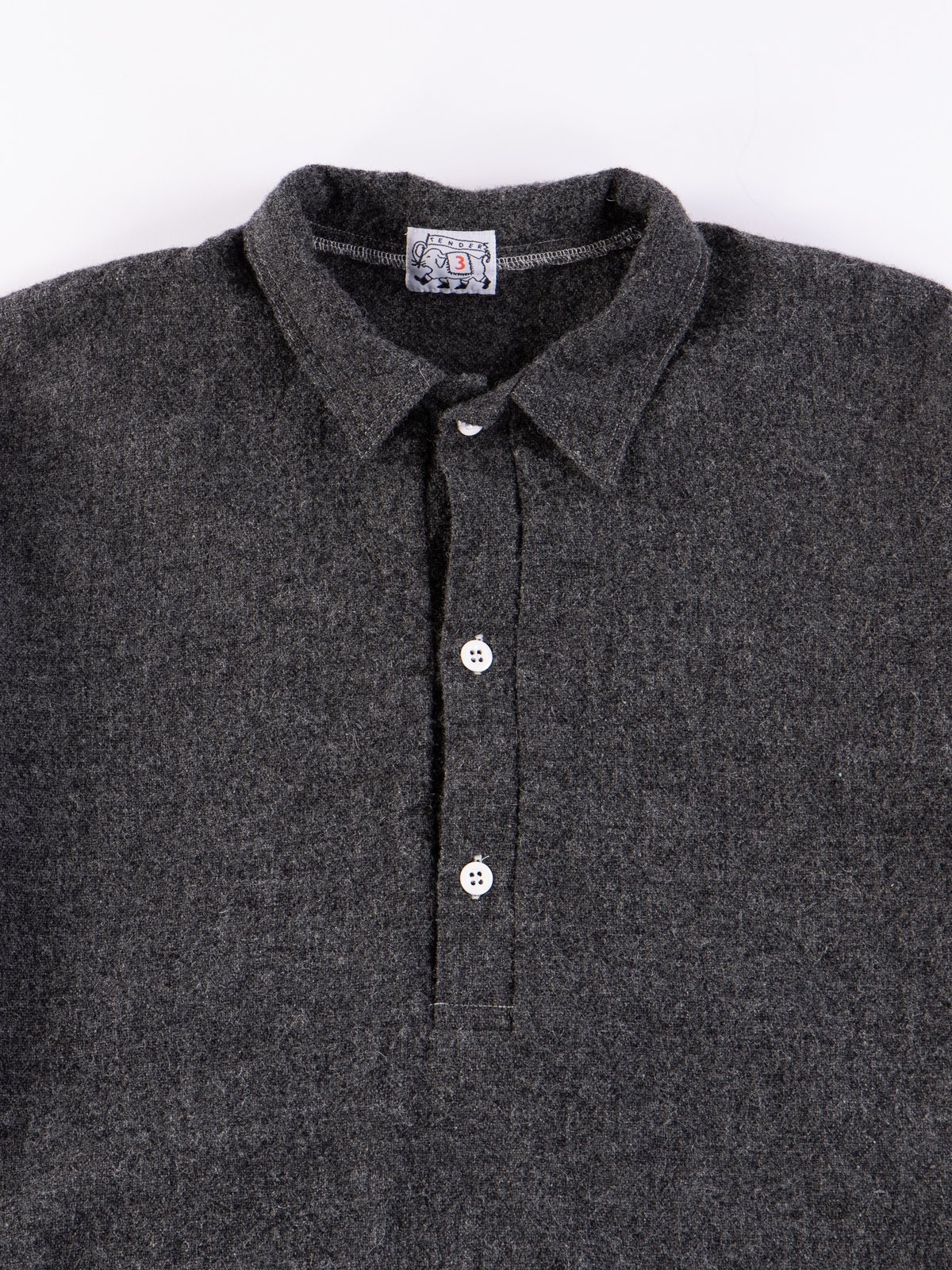 Charcoal Weavers Stock Pullover Tail Shirt - Image 3