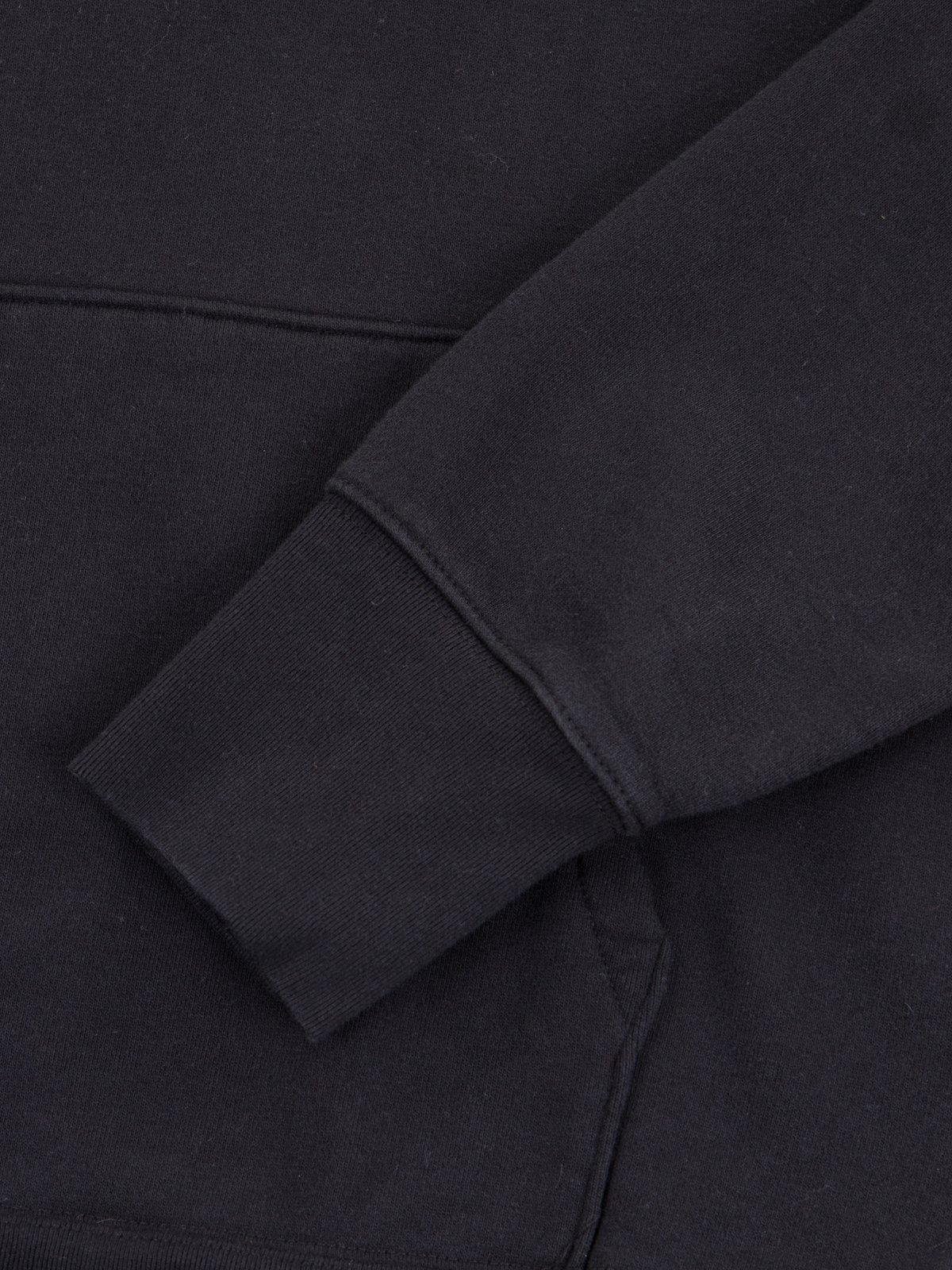 Black Gusset Pullover Parka - Image 4