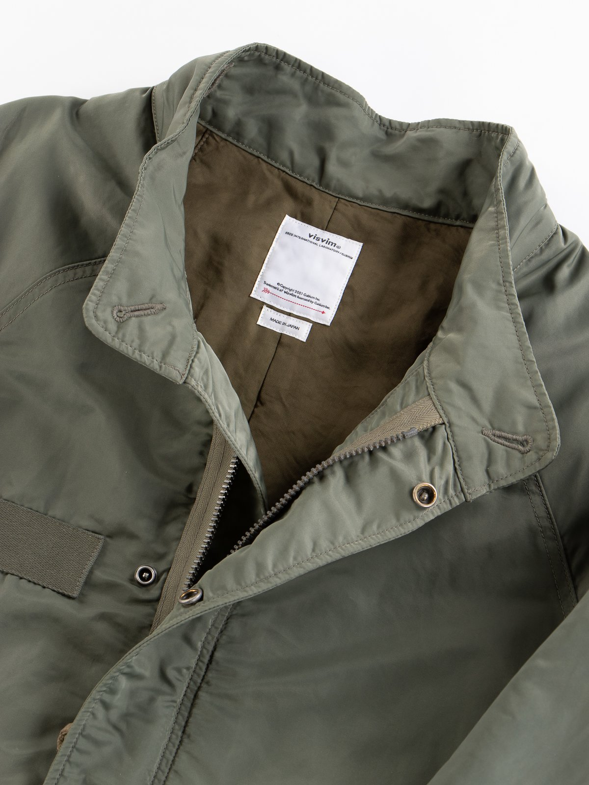 Olive Six–Five Fishtail Parka - Image 8
