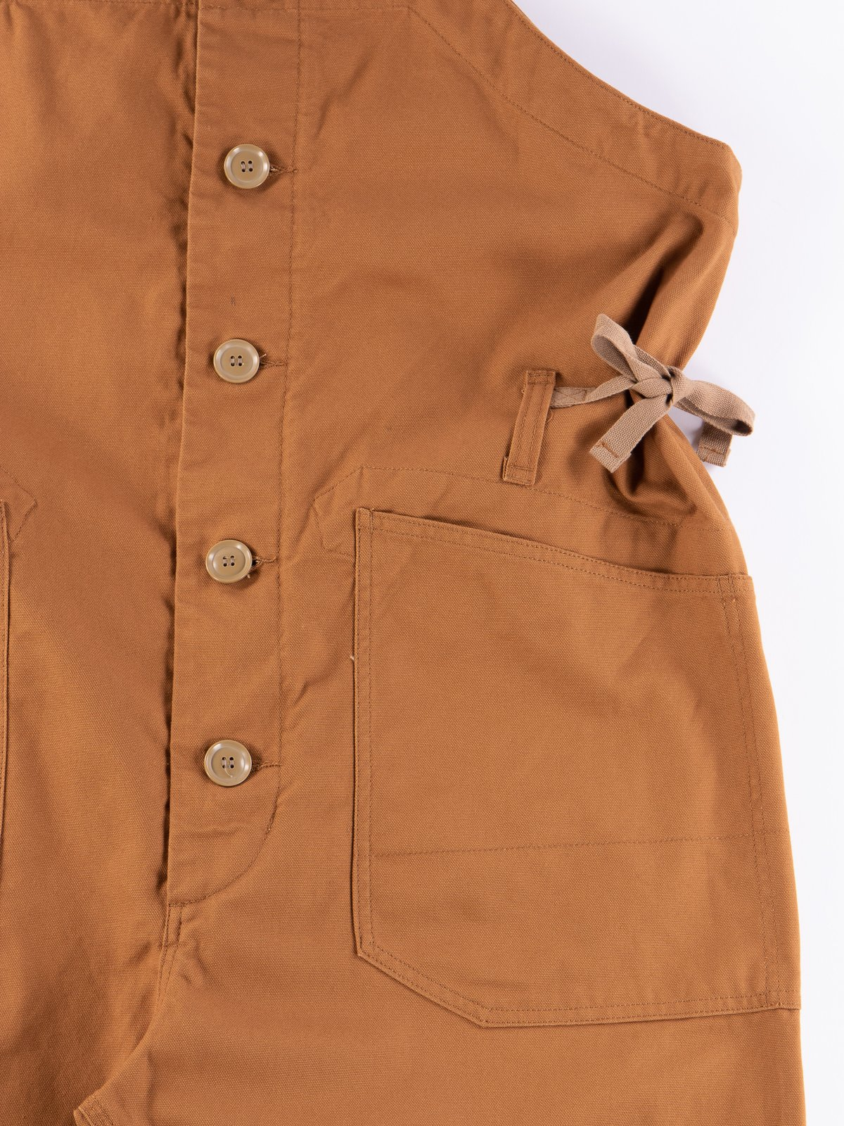 Brown 12oz Duck Canvas Waders - Image 6
