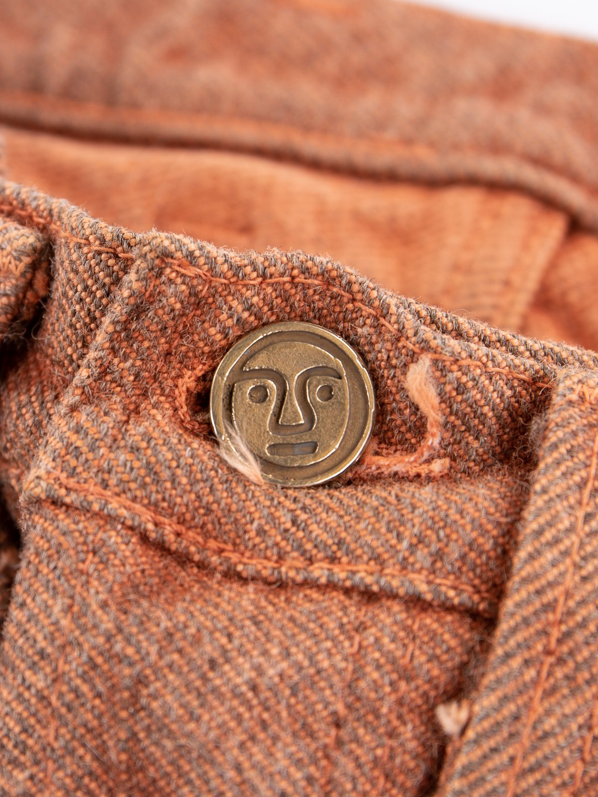 Red Ochre Dye Tapered Jean - Image 5