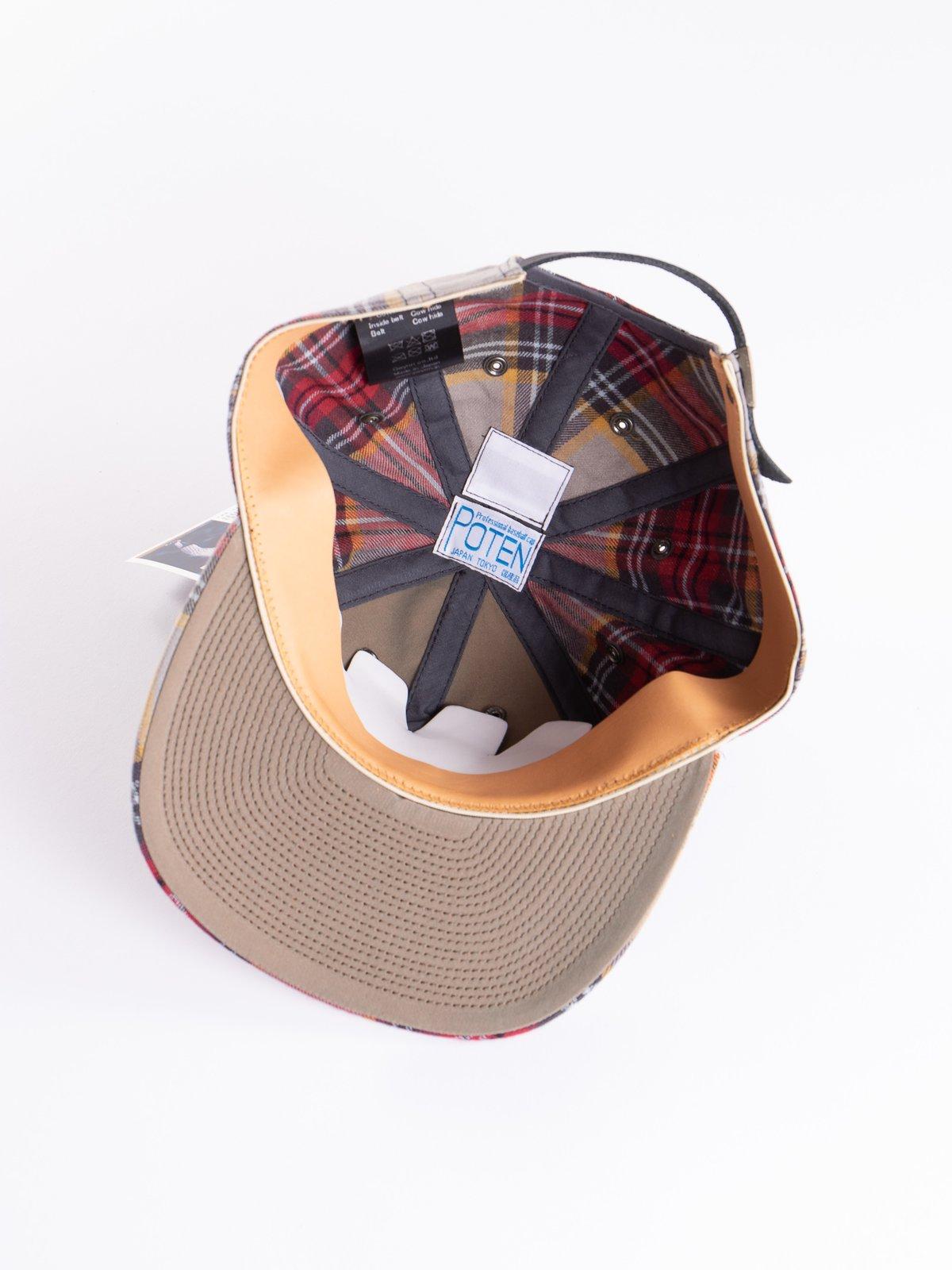 Grey Japanese Flannel Cap - Image 4