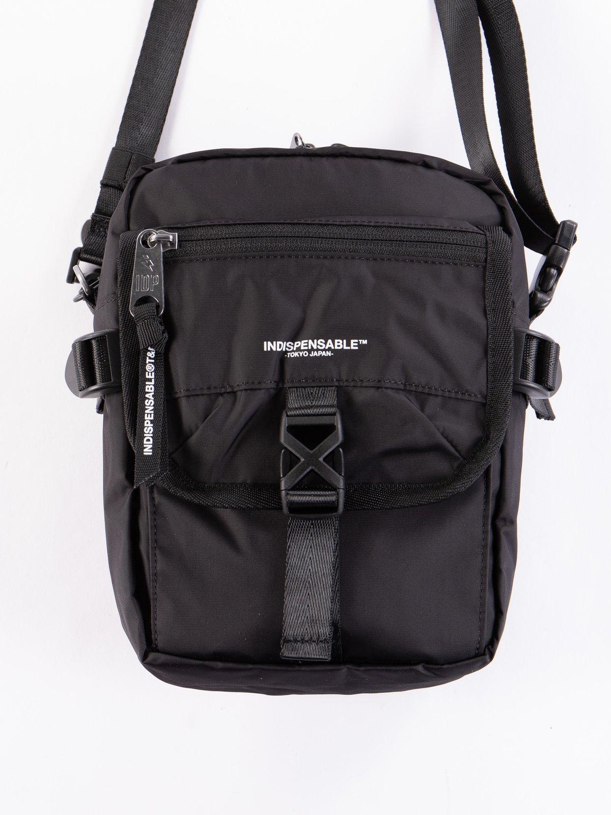 Black Econyl Buddy IDP Quick Shoulder Bag - Image 2