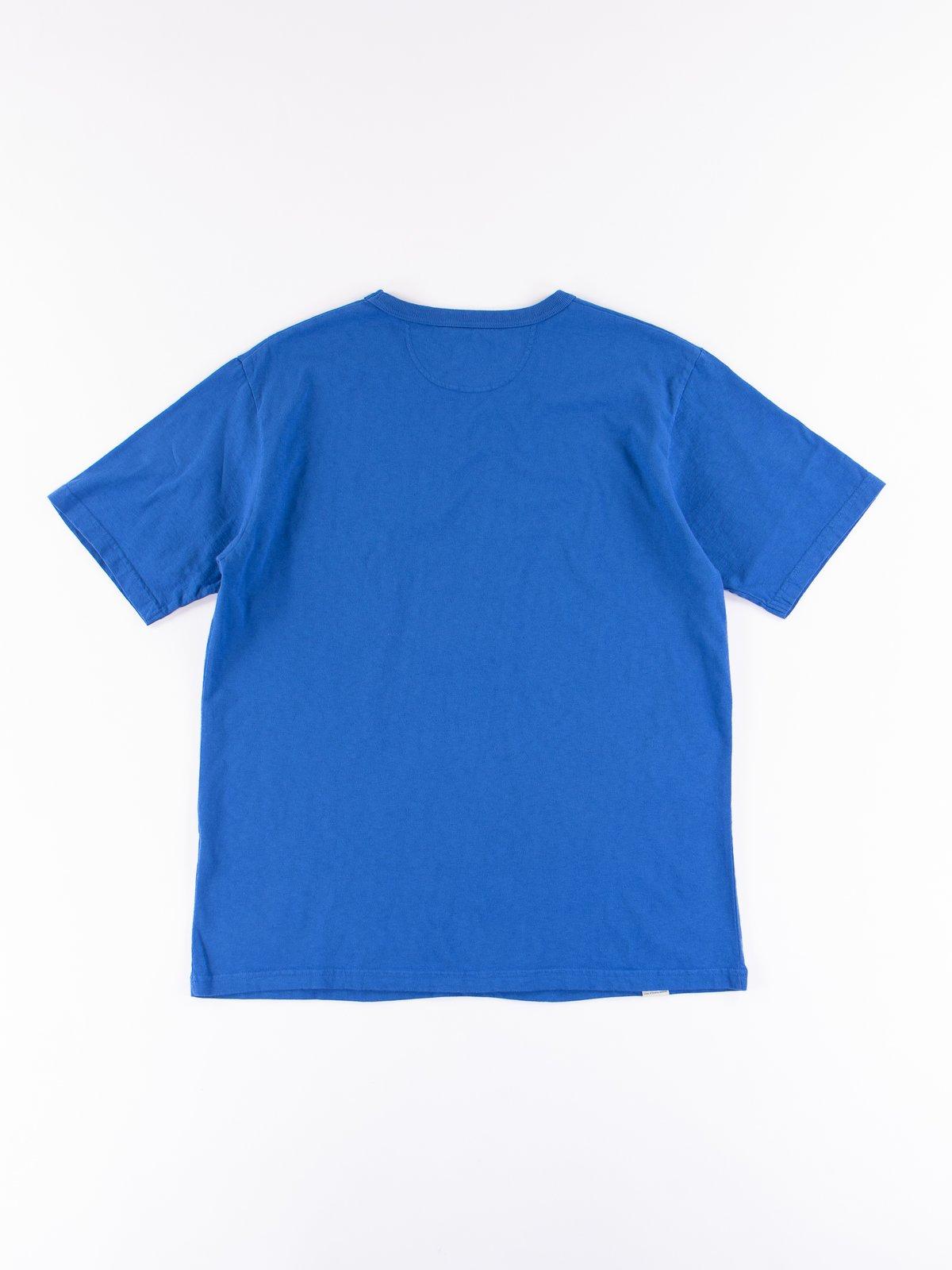 Blue Stripe Cote D'Ivoire Cotton T–Shirt - Image 5
