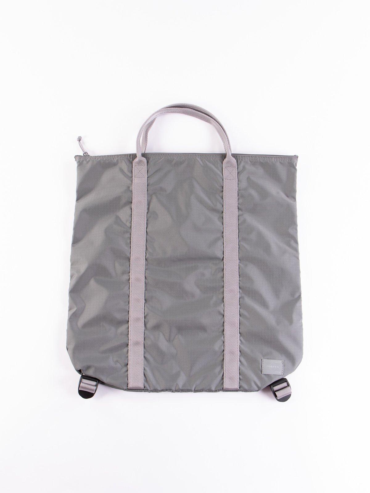 Grey Flex 2Way Tote Bag - Image 1