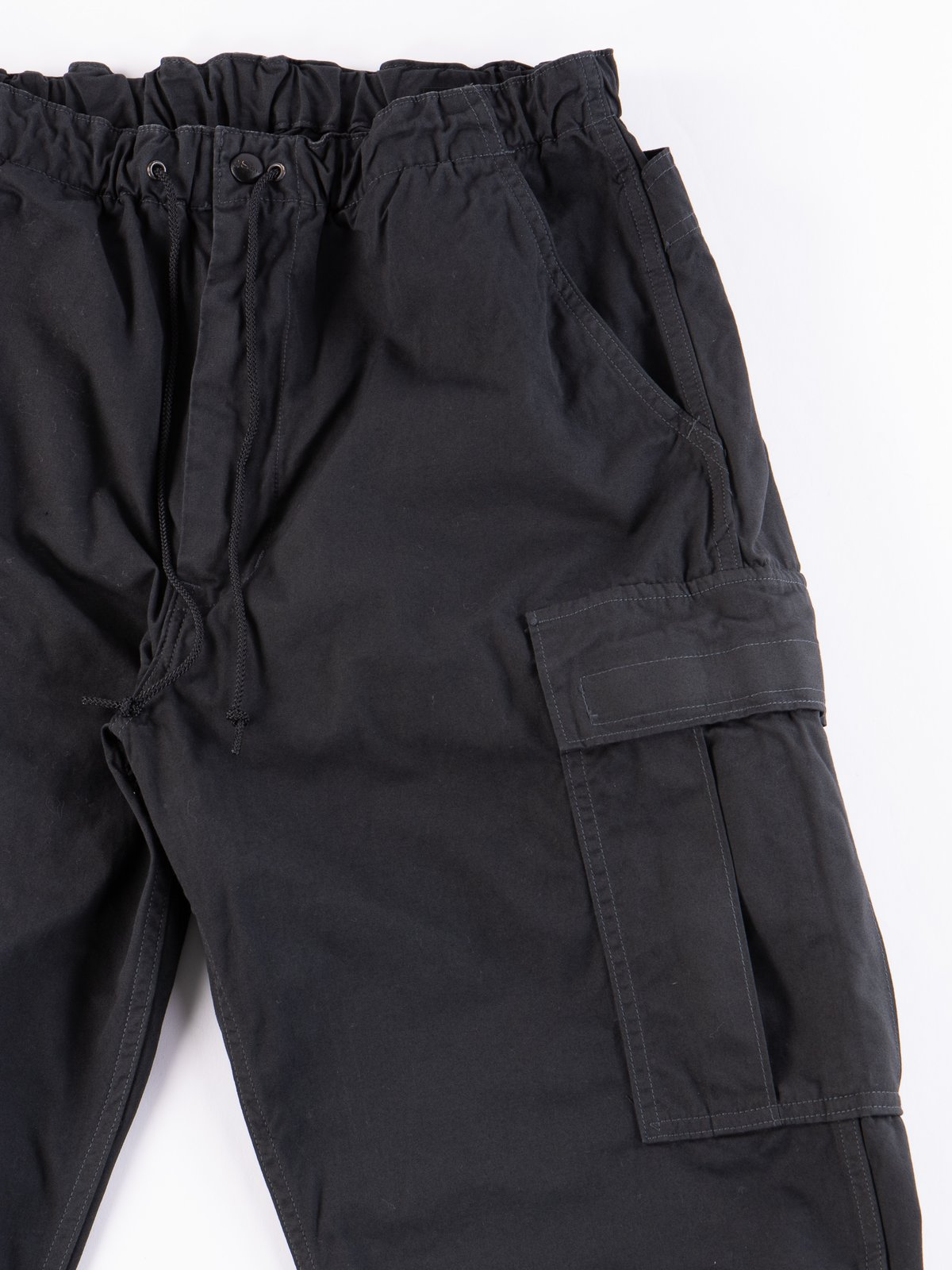 Grey Weather Cloth Easy Cargo Pant - Image 4