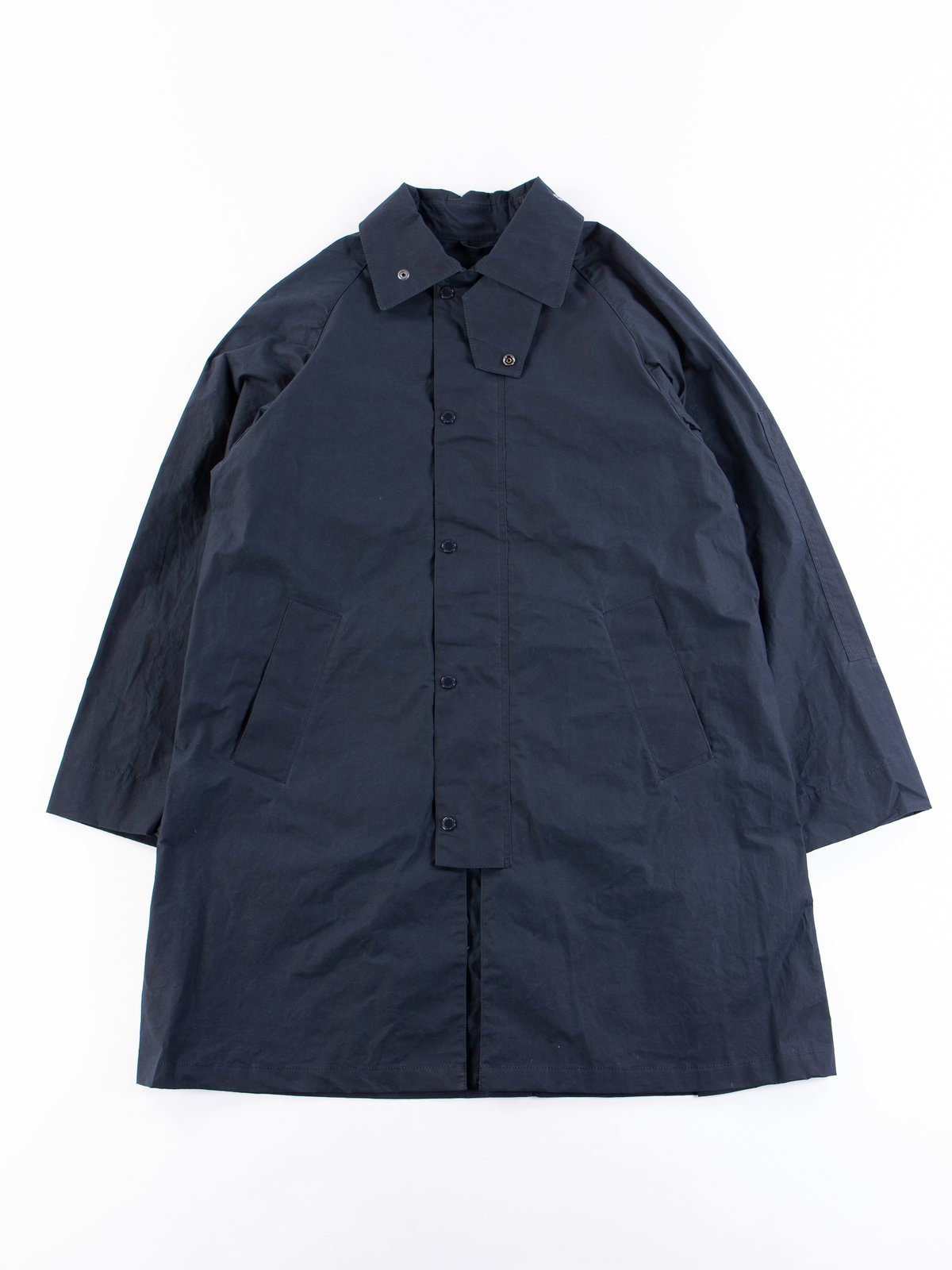 Navy South Overcoat - Image 1